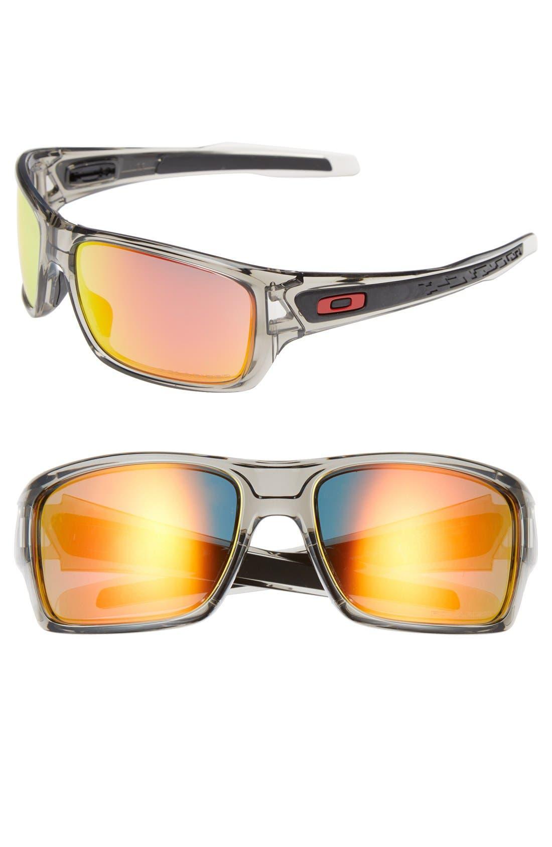 'Turbine<sup>™</sup>' 65mm Polarized Sunglasses,                             Main thumbnail 2, color,