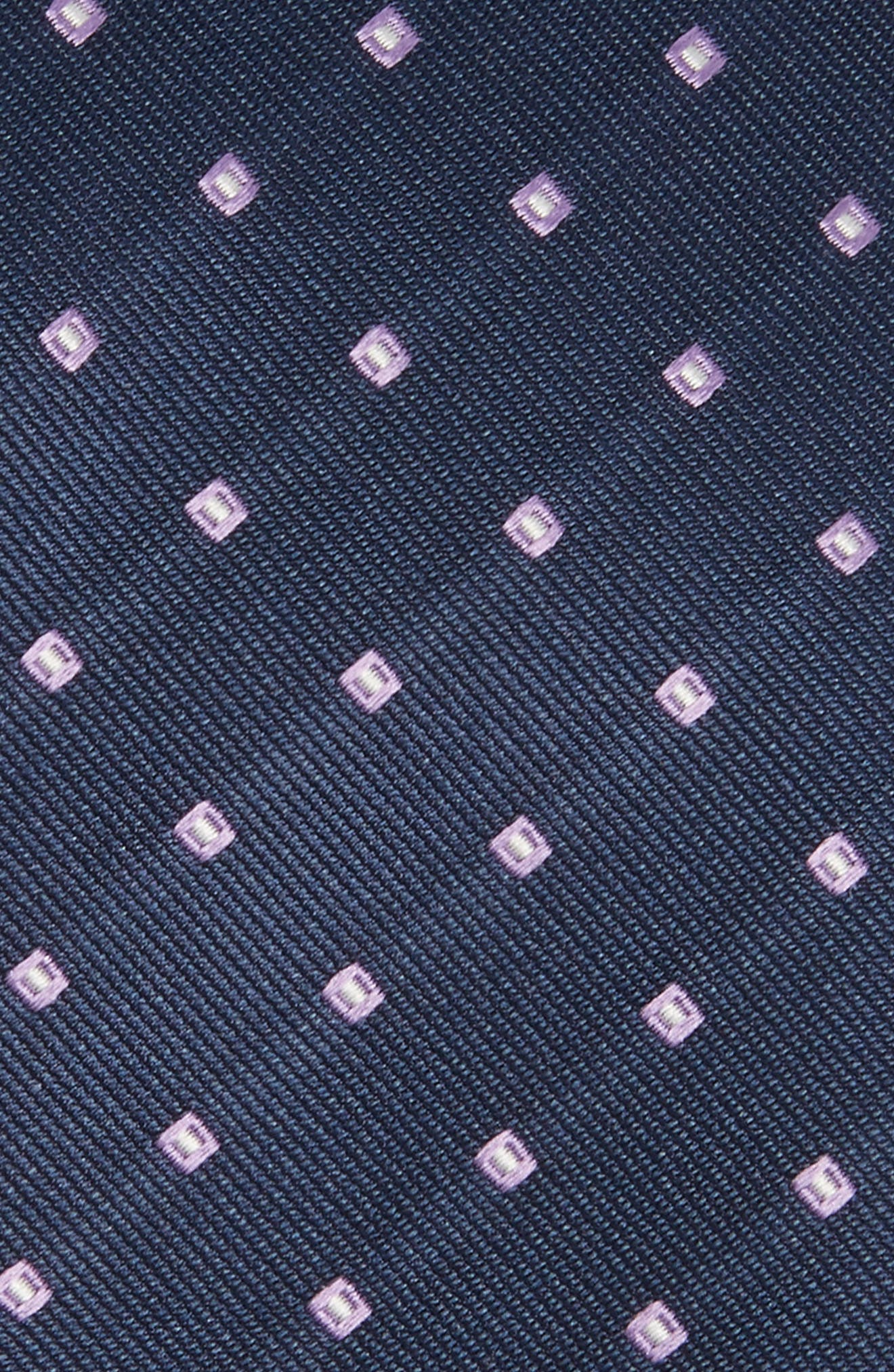 Medallion Silk Tie,                             Alternate thumbnail 8, color,