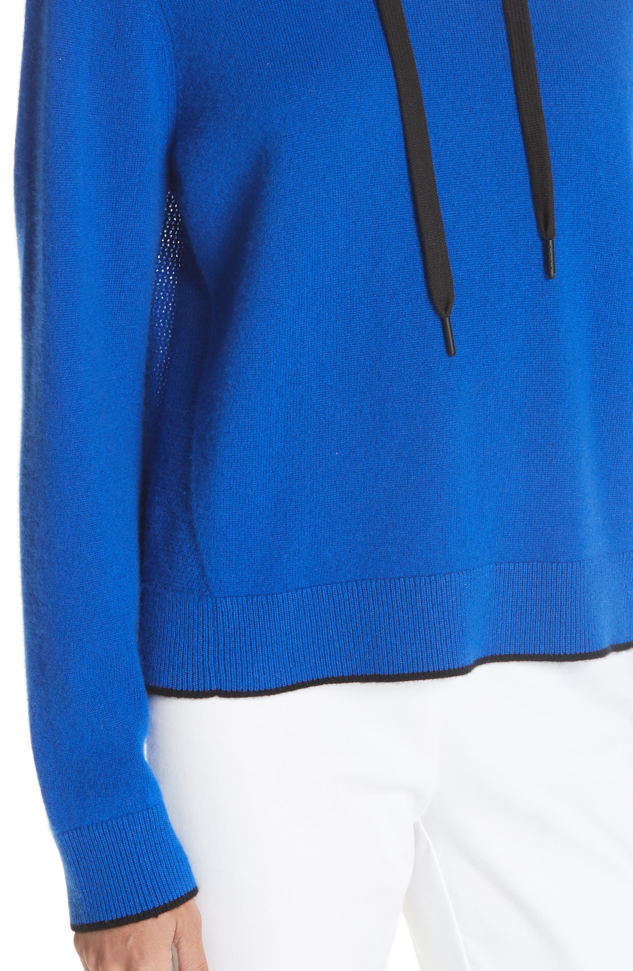 Yorke Cashmere Hoodie,                             Alternate thumbnail 4, color,                             403
