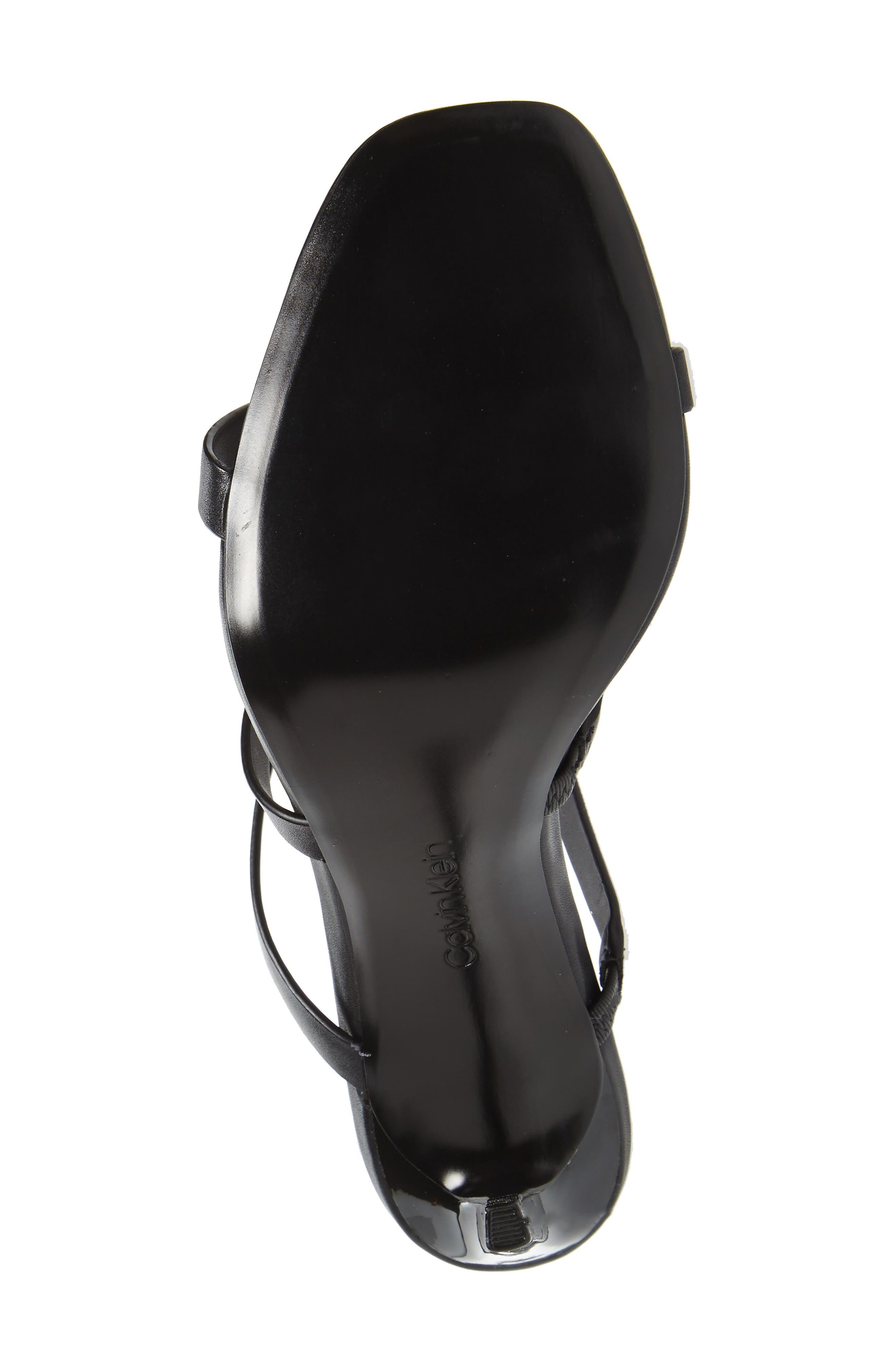 Dolcita Strappy Sandal,                             Alternate thumbnail 6, color,                             001