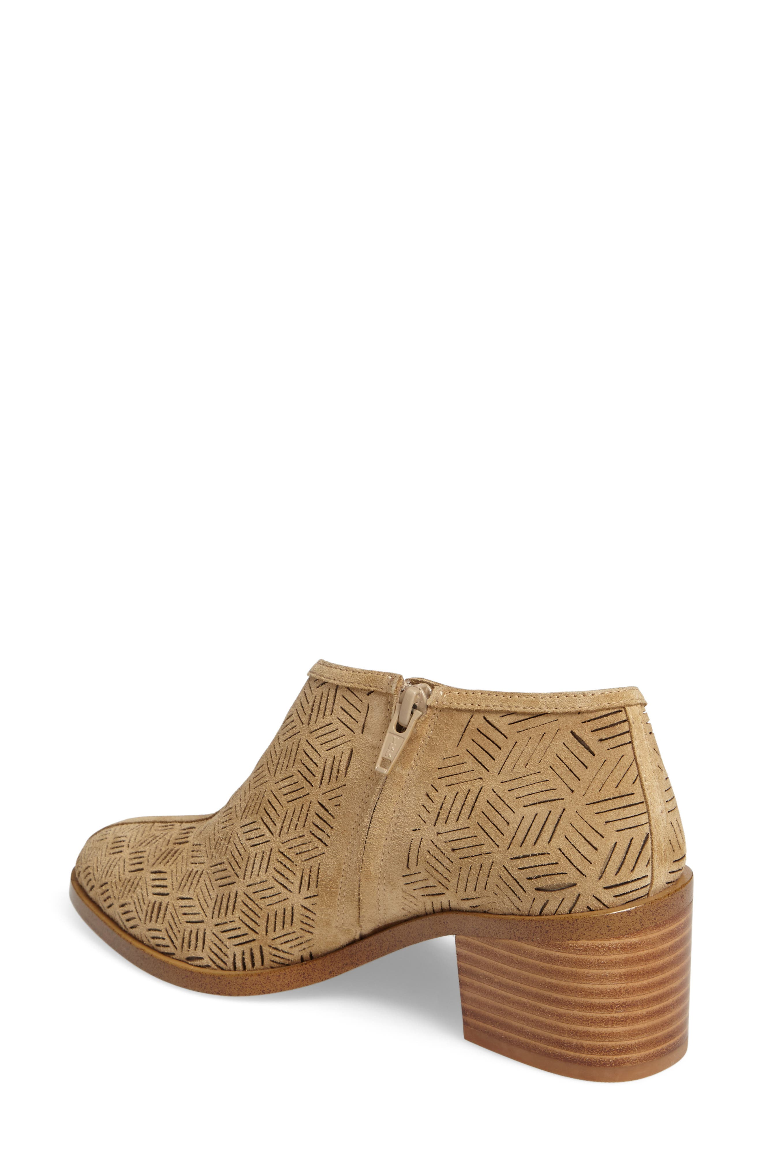 Iddah Perforated Cutaway Bootie,                             Alternate thumbnail 10, color,