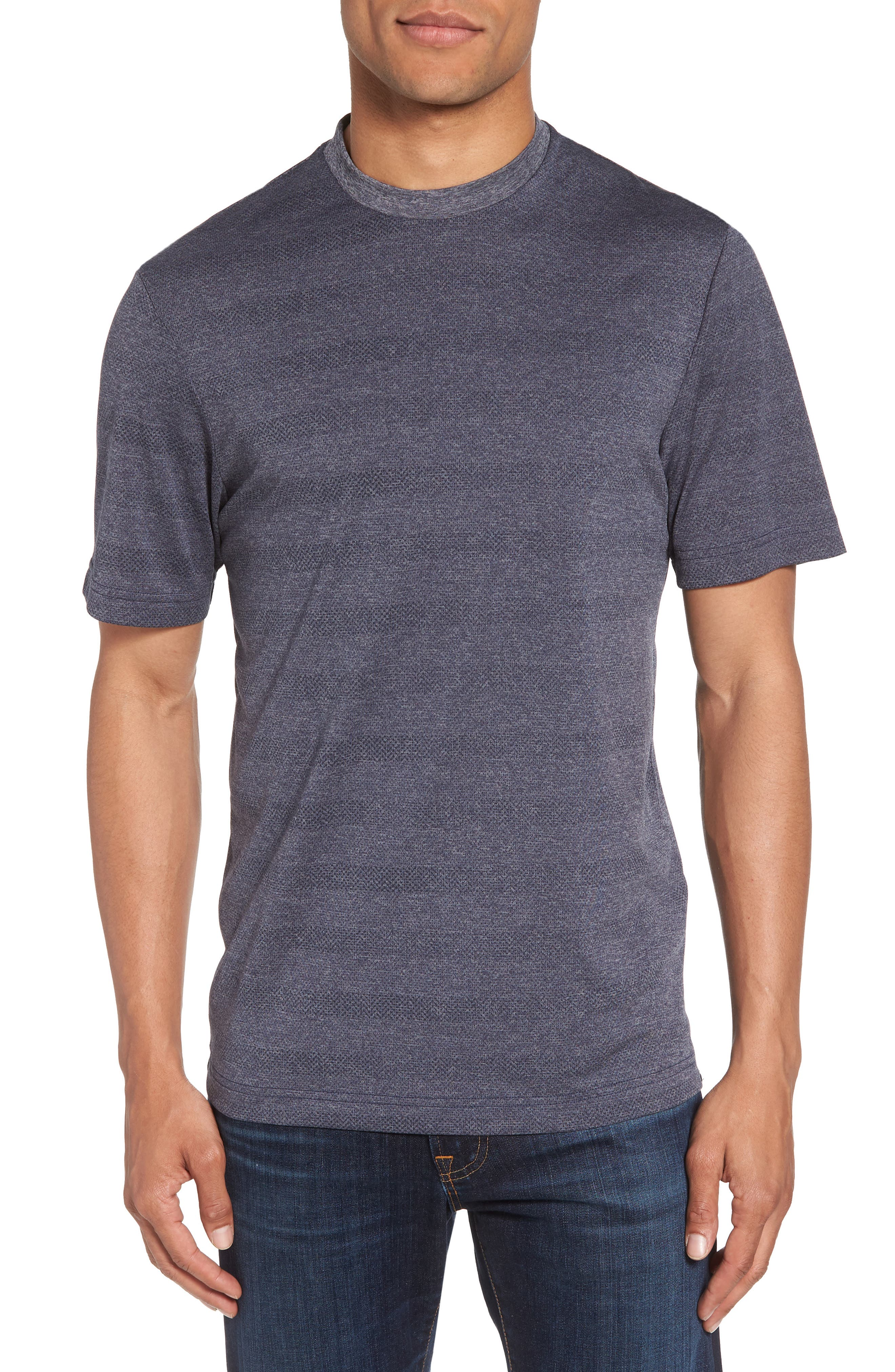 Upshift T-Shirt,                         Main,                         color, HEATHER GRIFFIN