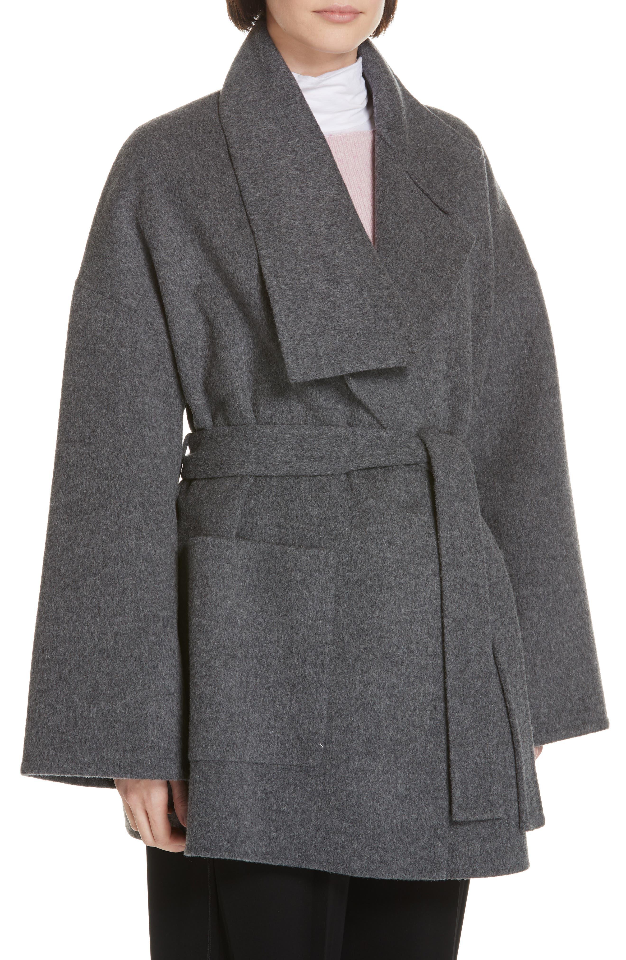 Blanket Coat,                             Alternate thumbnail 4, color,                             H GREY
