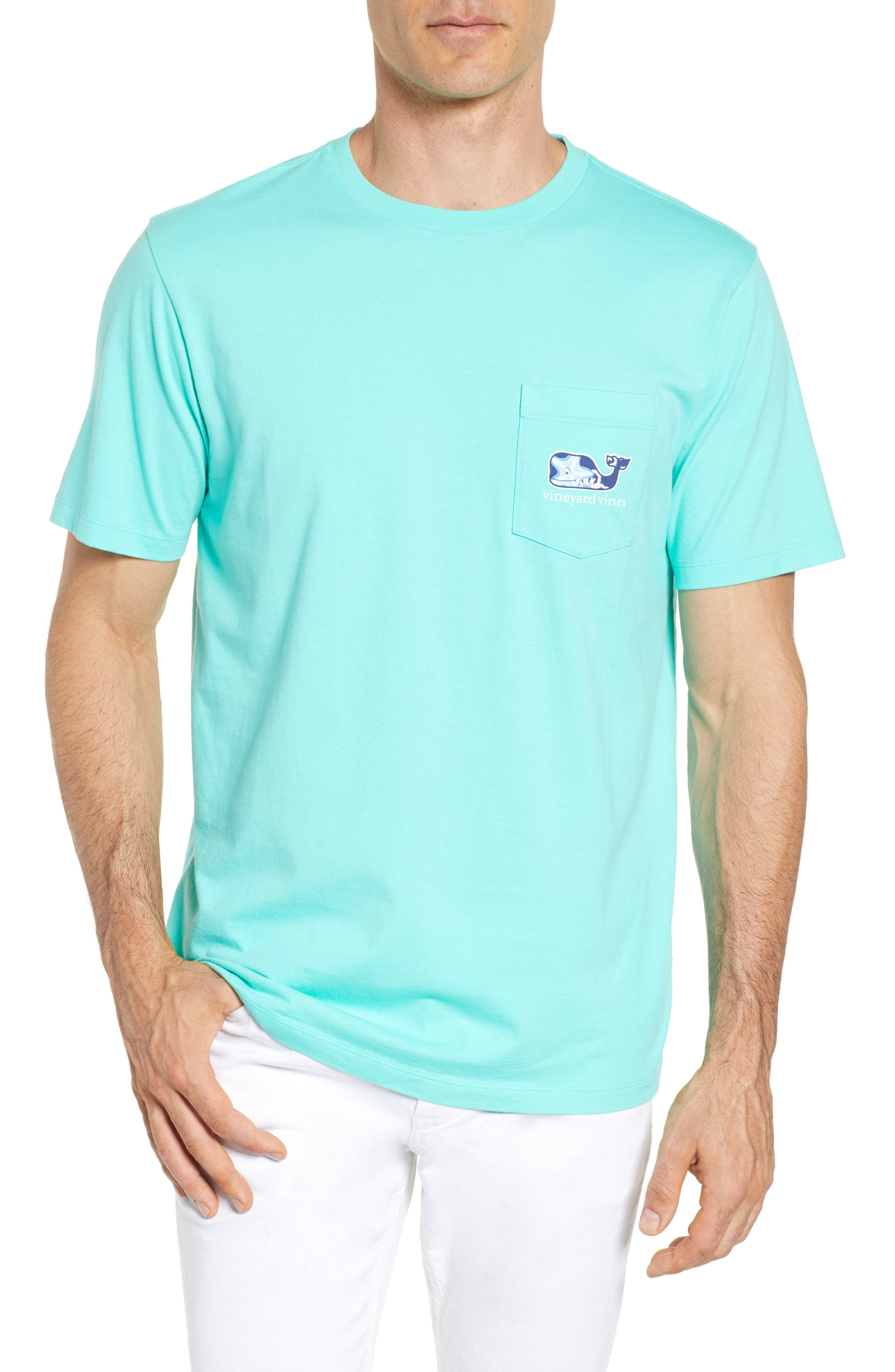 Starfish Whale Pocket T-Shirt,                         Main,                         color, 415
