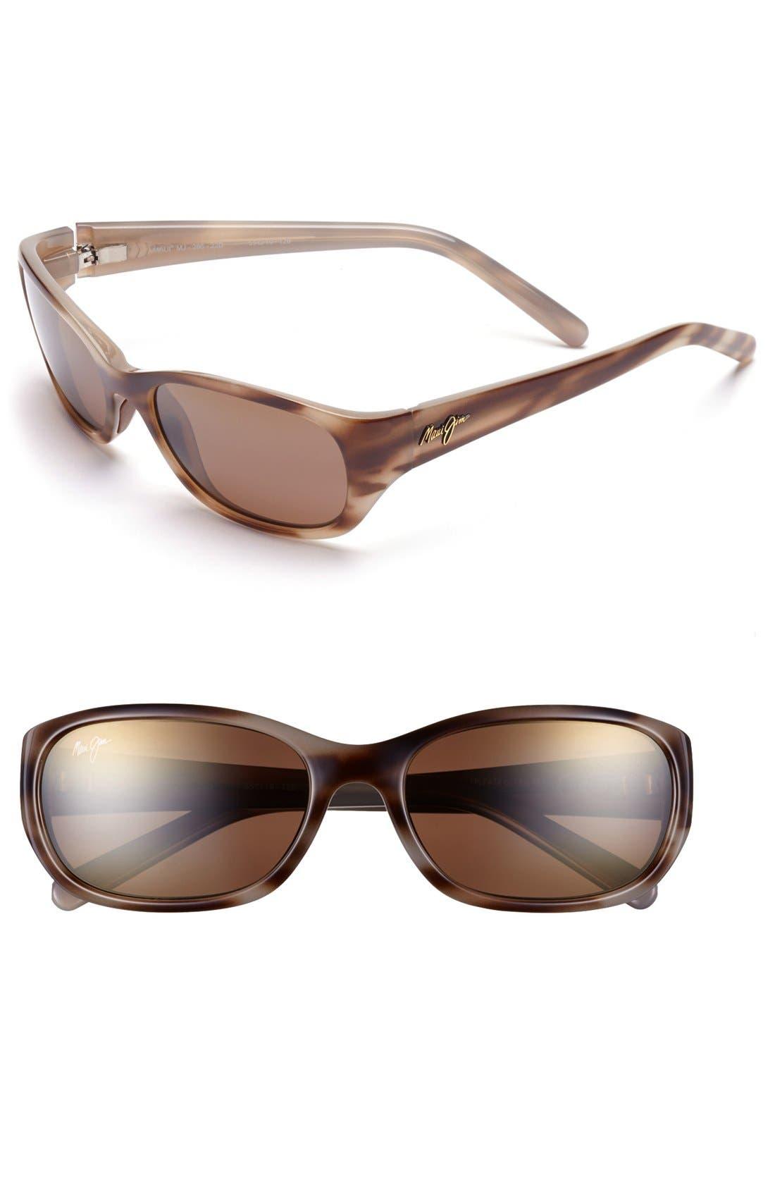 Kuiaha Bay 55mm PolarizedPlus<sup>®</sup> Sport Sunglasses,                             Main thumbnail 3, color,
