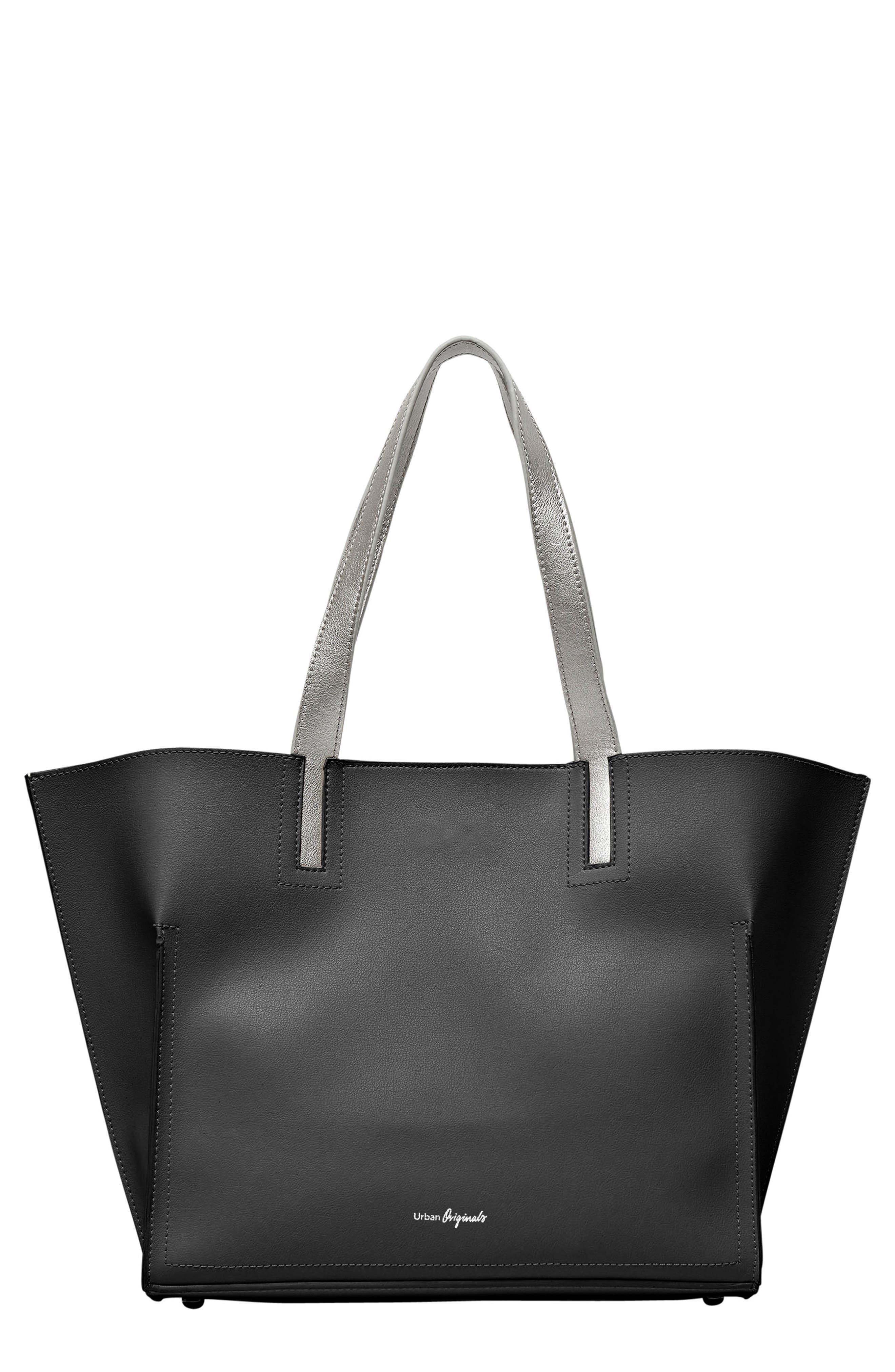 Obsession Vegan Leather Tote,                             Main thumbnail 2, color,
