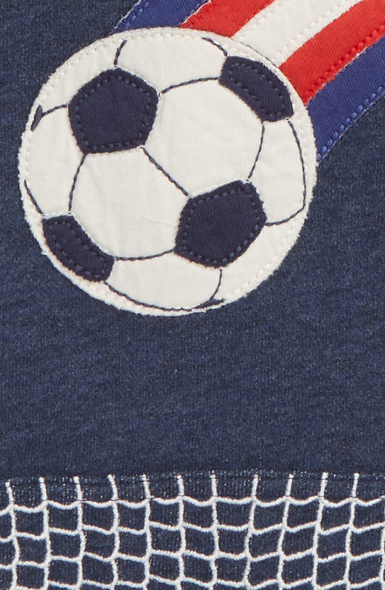 Soccer Appliqué Hoodie,                             Alternate thumbnail 2, color,                             414