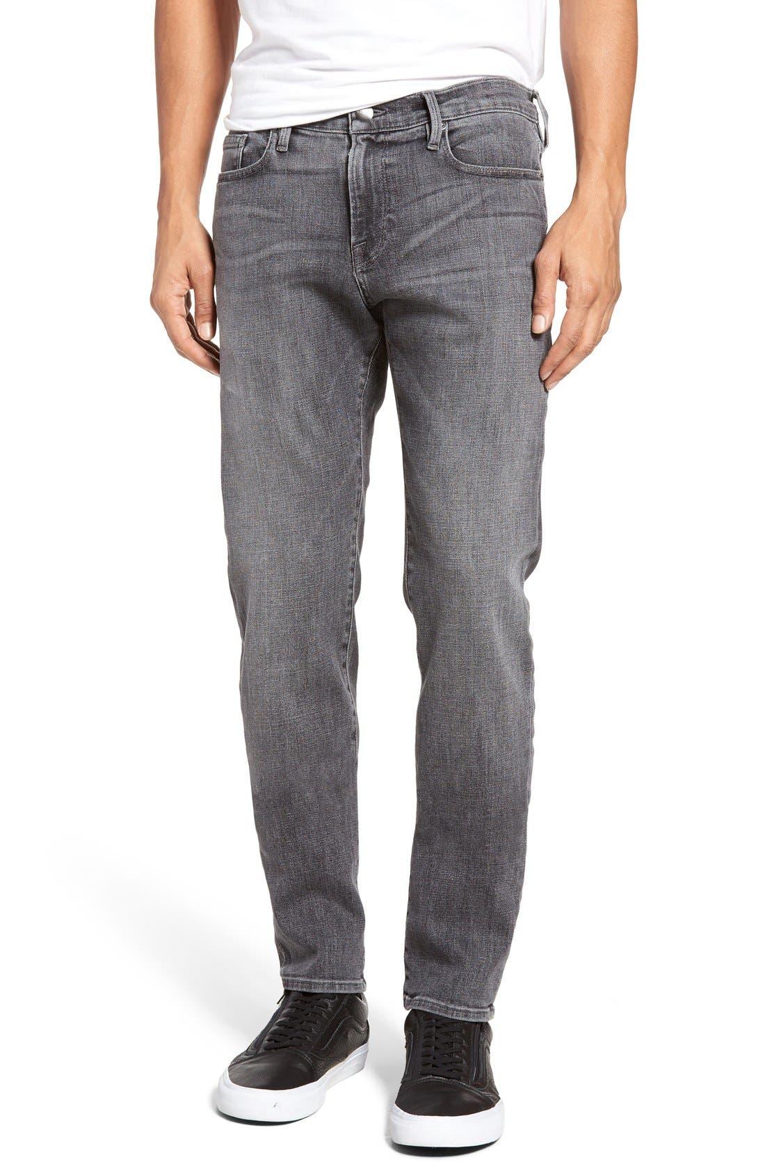 L'Homme Slim Fit Jeans,                         Main,                         color, BADLANDS