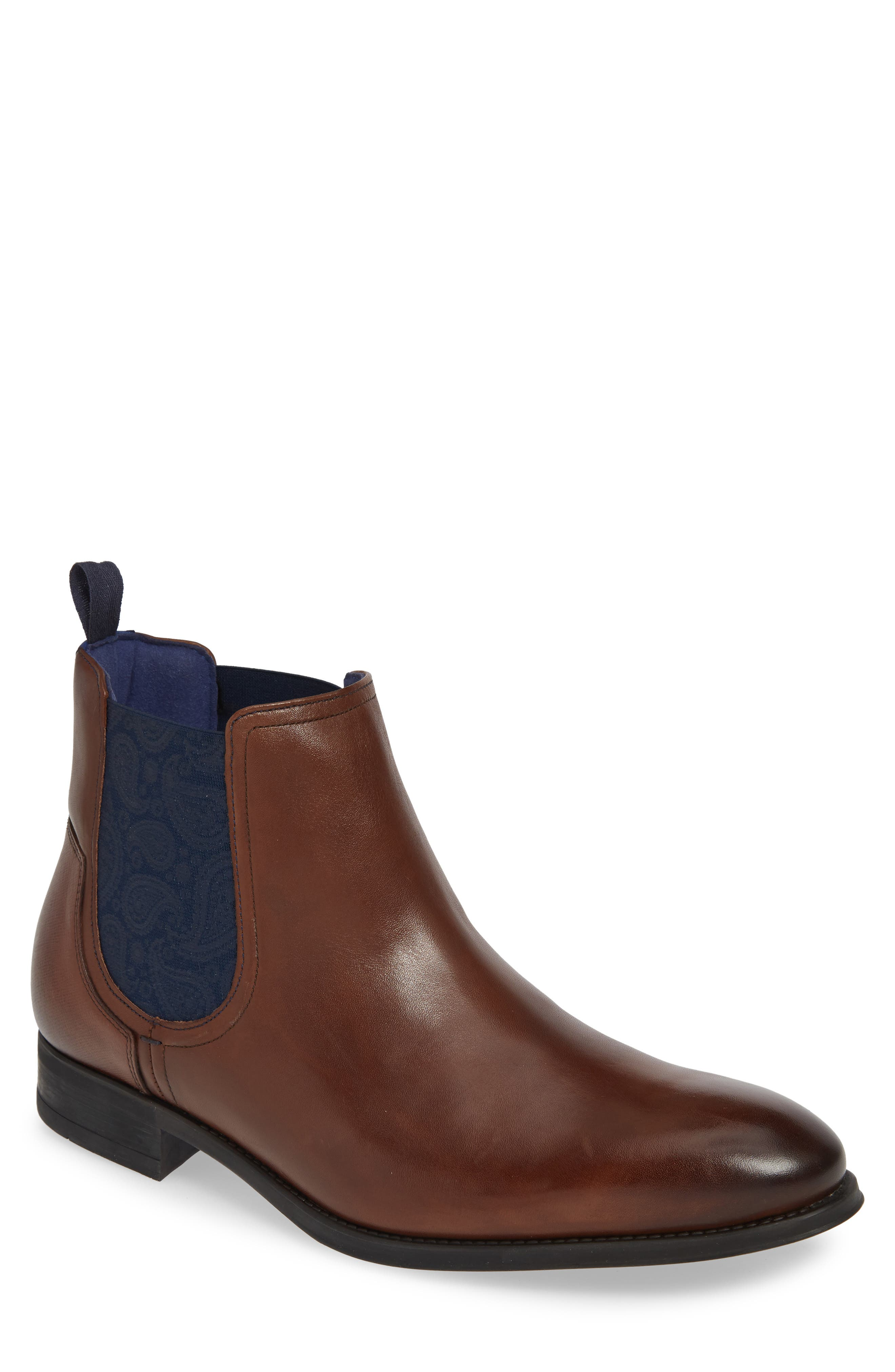 Ted Baker London Travic Mid Chelsea Boot, Brown