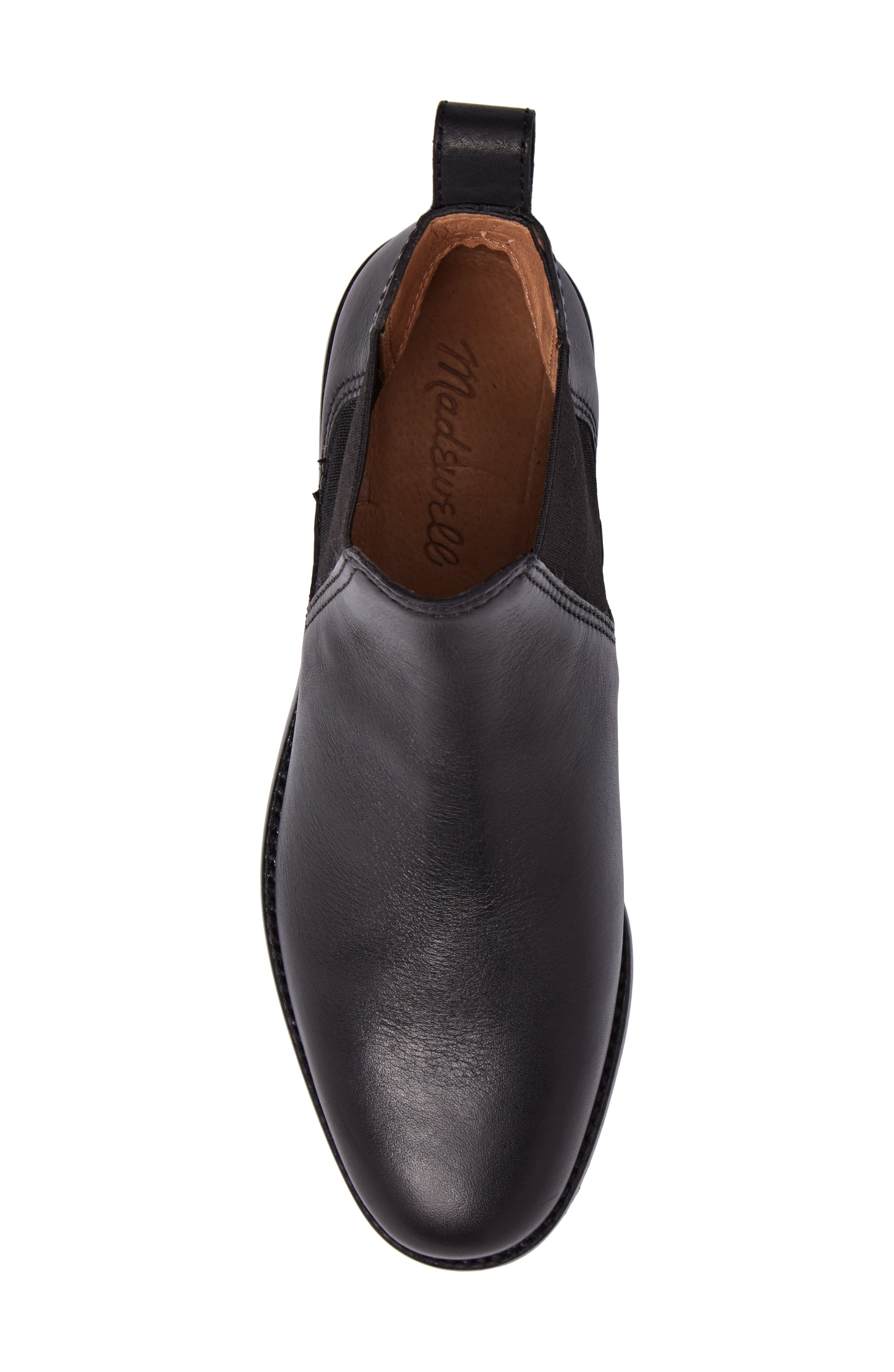The Ainsley Chelsea Boot,                             Alternate thumbnail 5, color,                             001