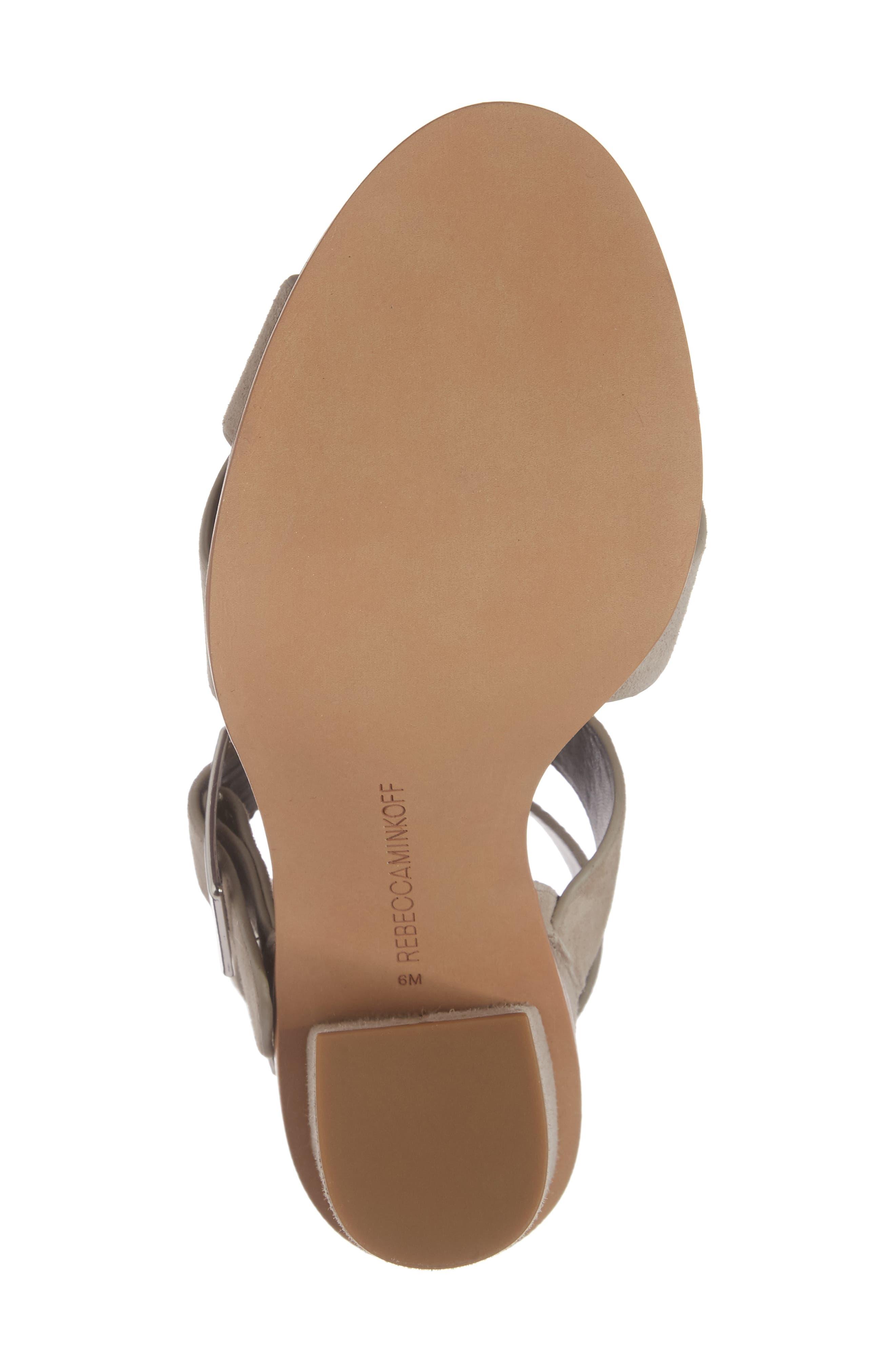 Jennifer Studded Ankle Cuff Sandal,                             Alternate thumbnail 17, color,