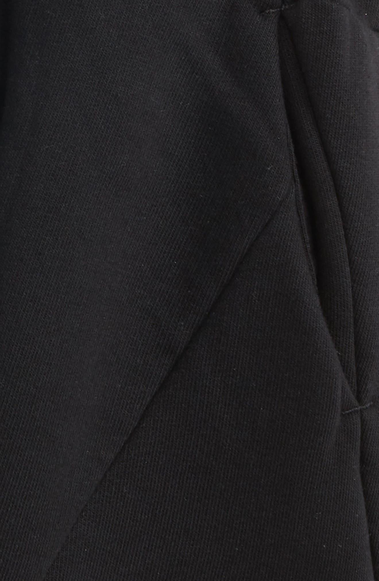NUNUNU,                             Knit Shorts,                             Alternate thumbnail 2, color,                             001