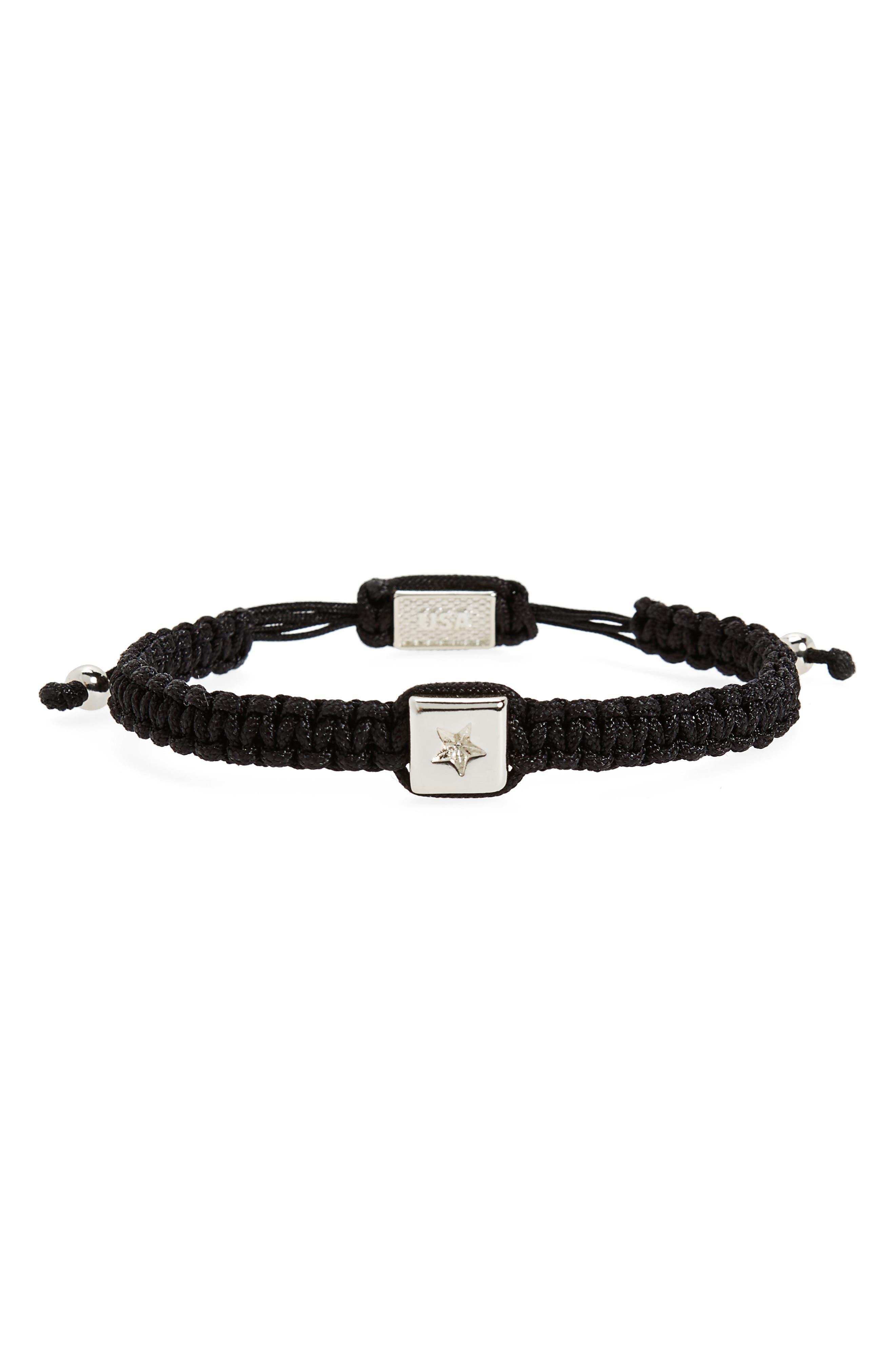 Macramé Bead Bracelet,                         Main,                         color,