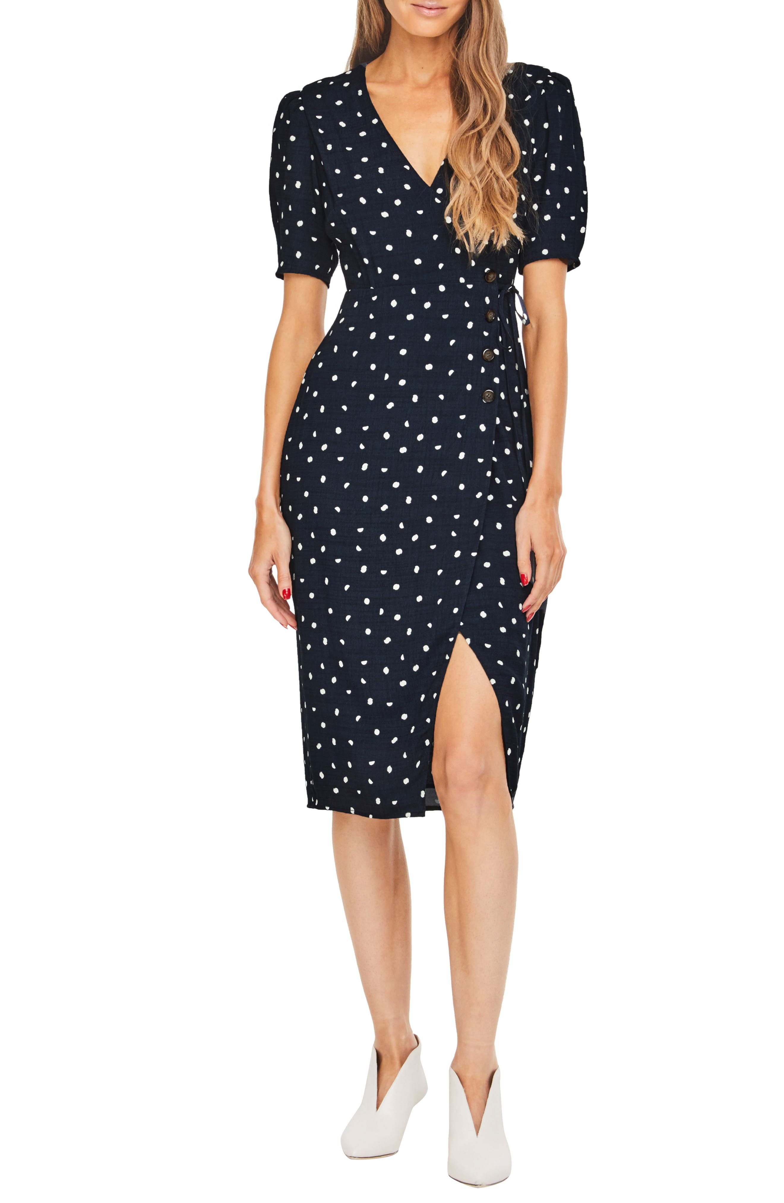 Astr The Label La Cienega Dress, Blue