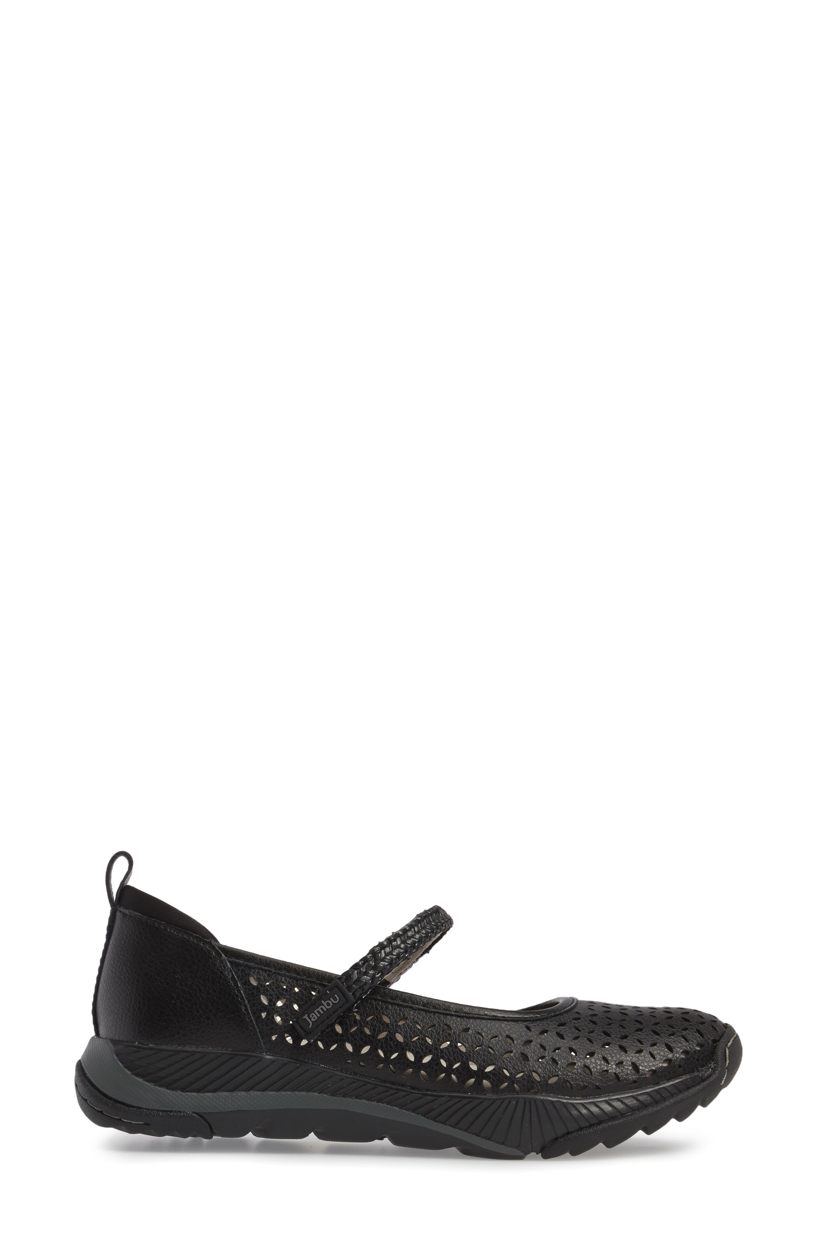 Bailey Perforated Mary Jane Sneaker,                             Alternate thumbnail 9, color,
