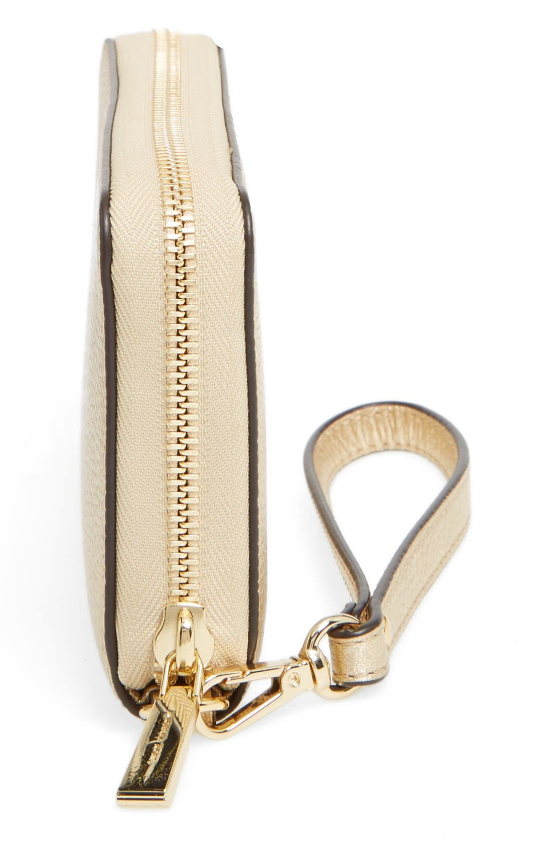 Mercer Large Leather Wristlet,                             Alternate thumbnail 20, color,