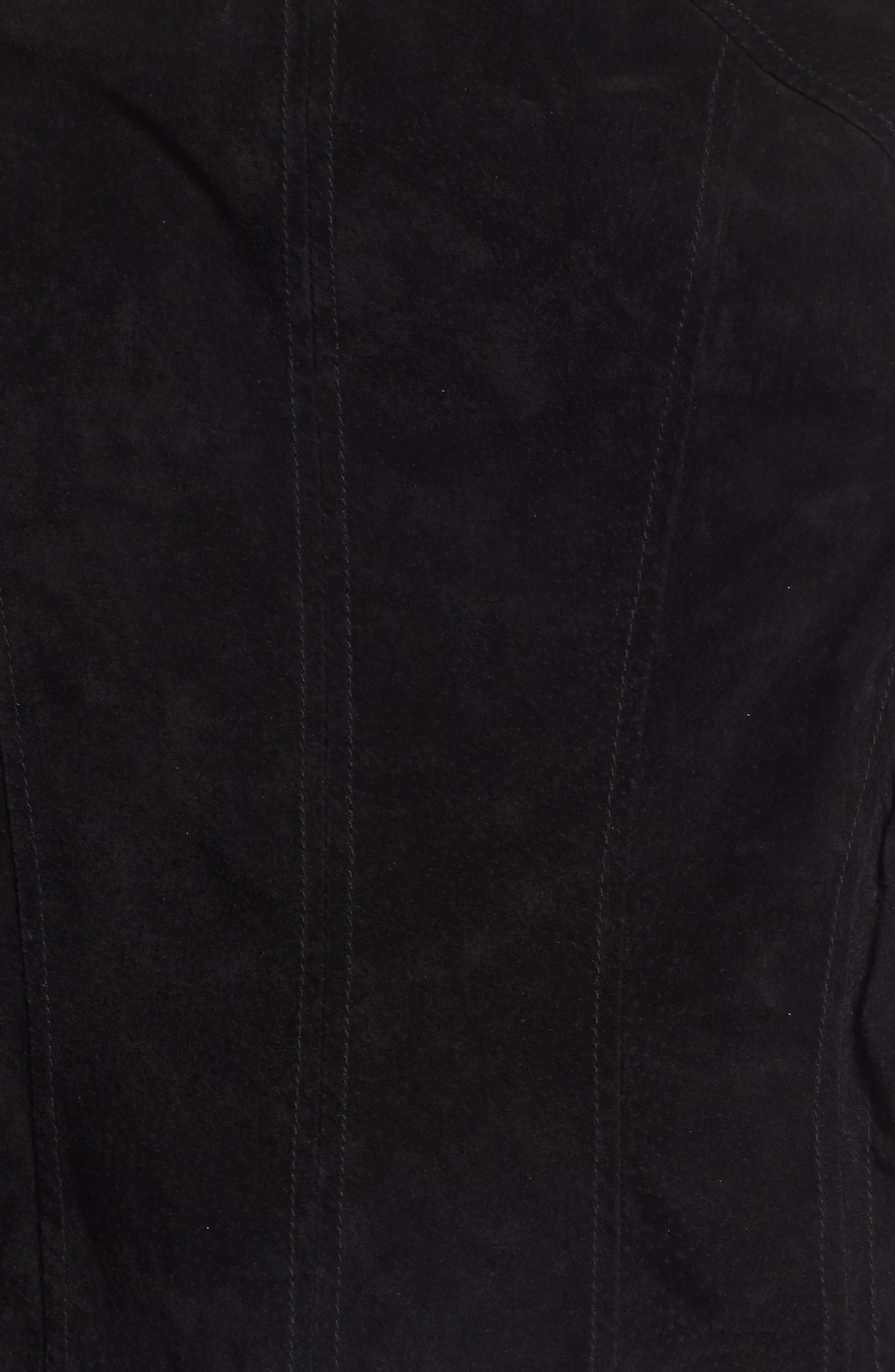 Suede Moto Jacket,                             Alternate thumbnail 50, color,