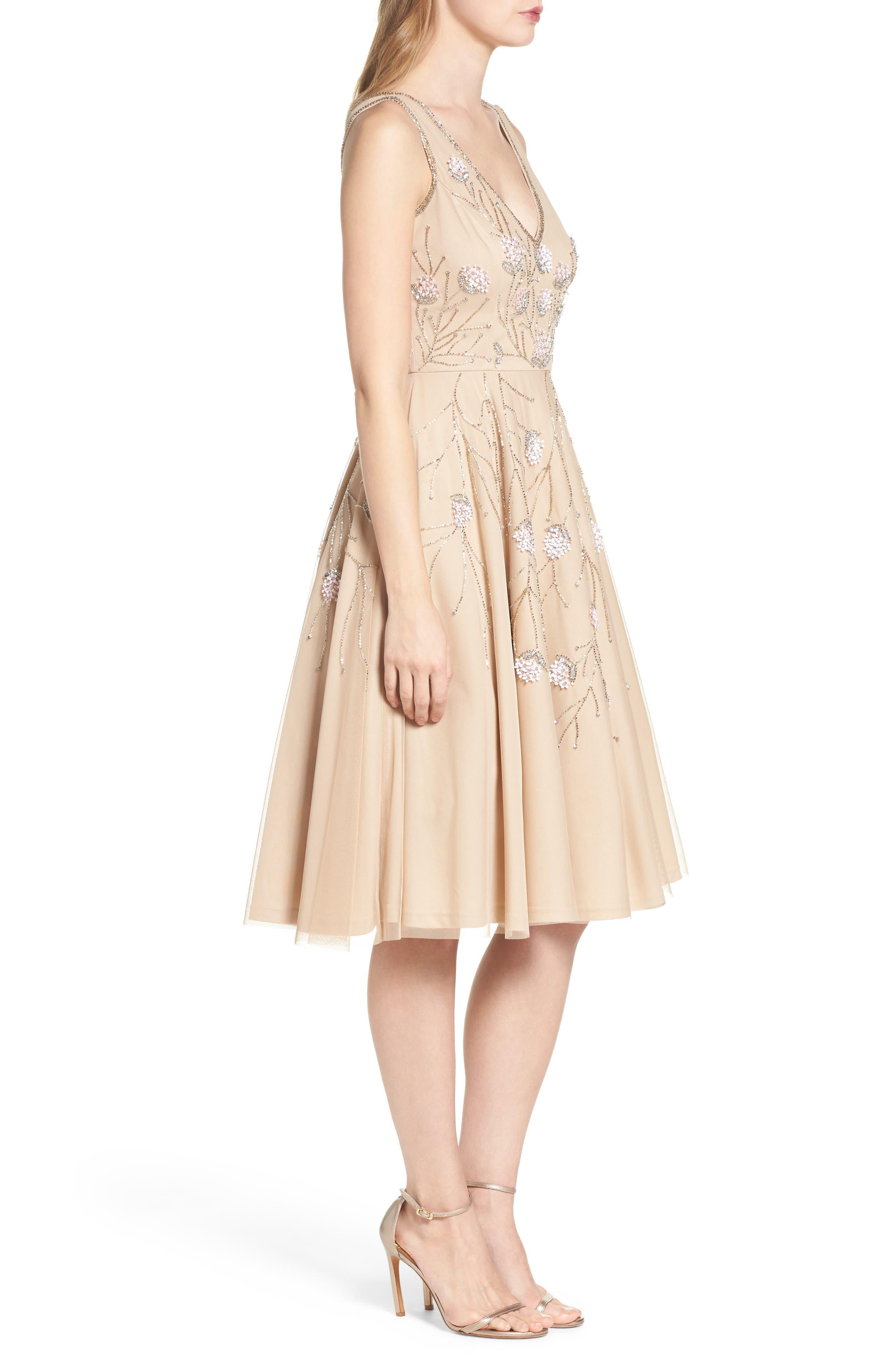 Embellished Dress,                             Alternate thumbnail 3, color,