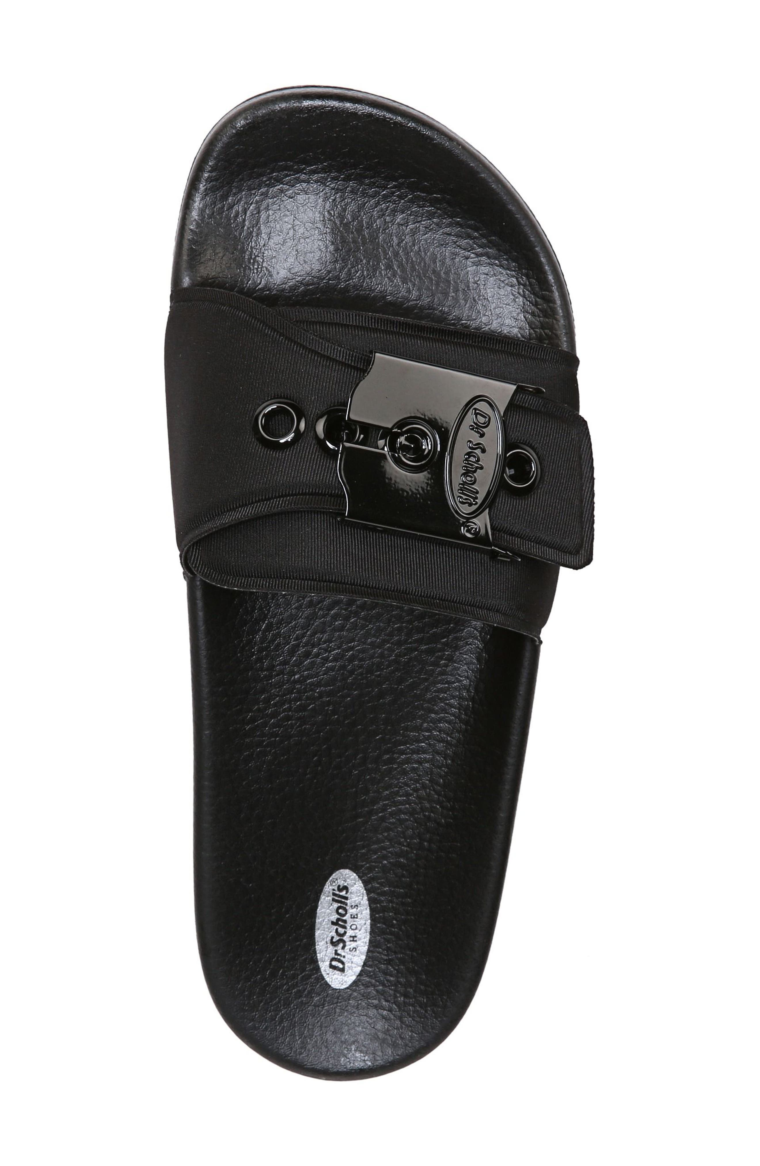 Original Pool Slide Sandal,                             Alternate thumbnail 5, color,                             BLACK