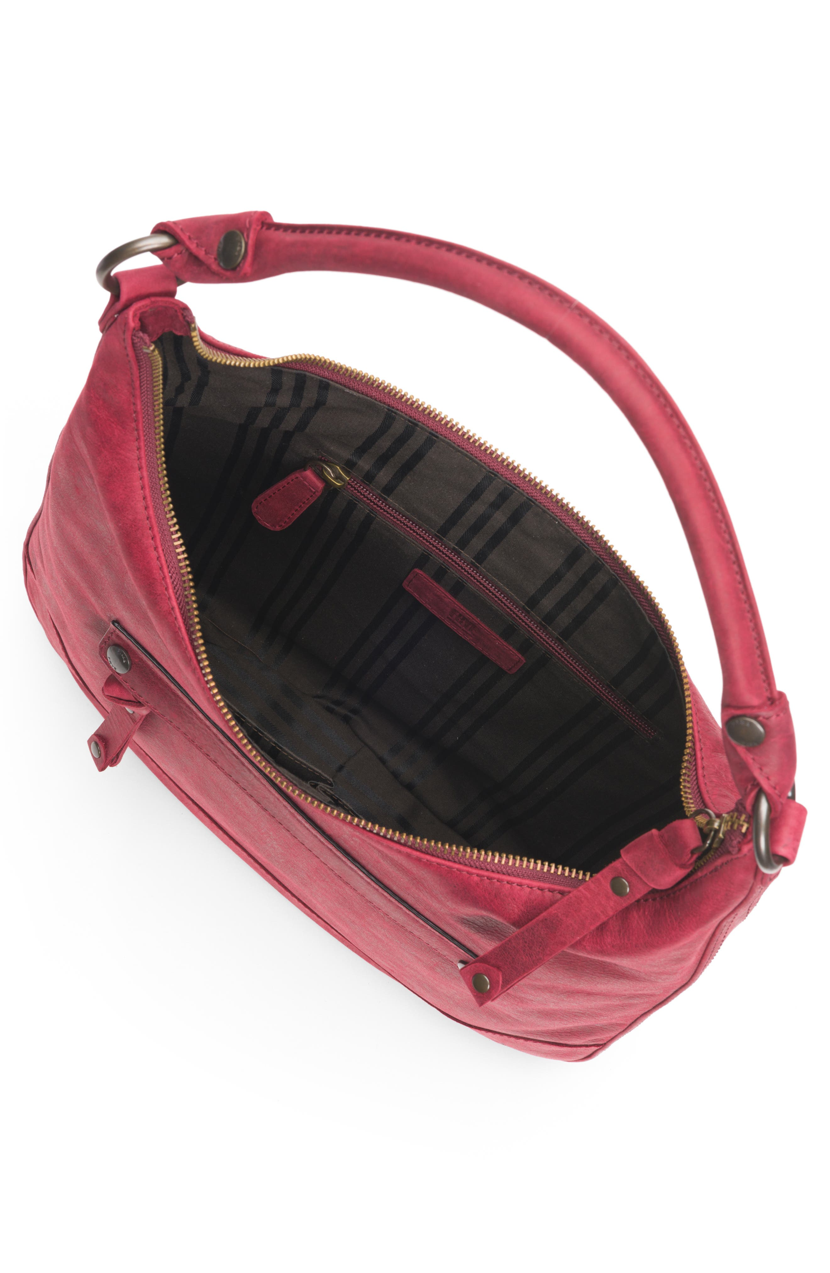 Melissa Large Leather Hobo,                             Alternate thumbnail 4, color,                             604