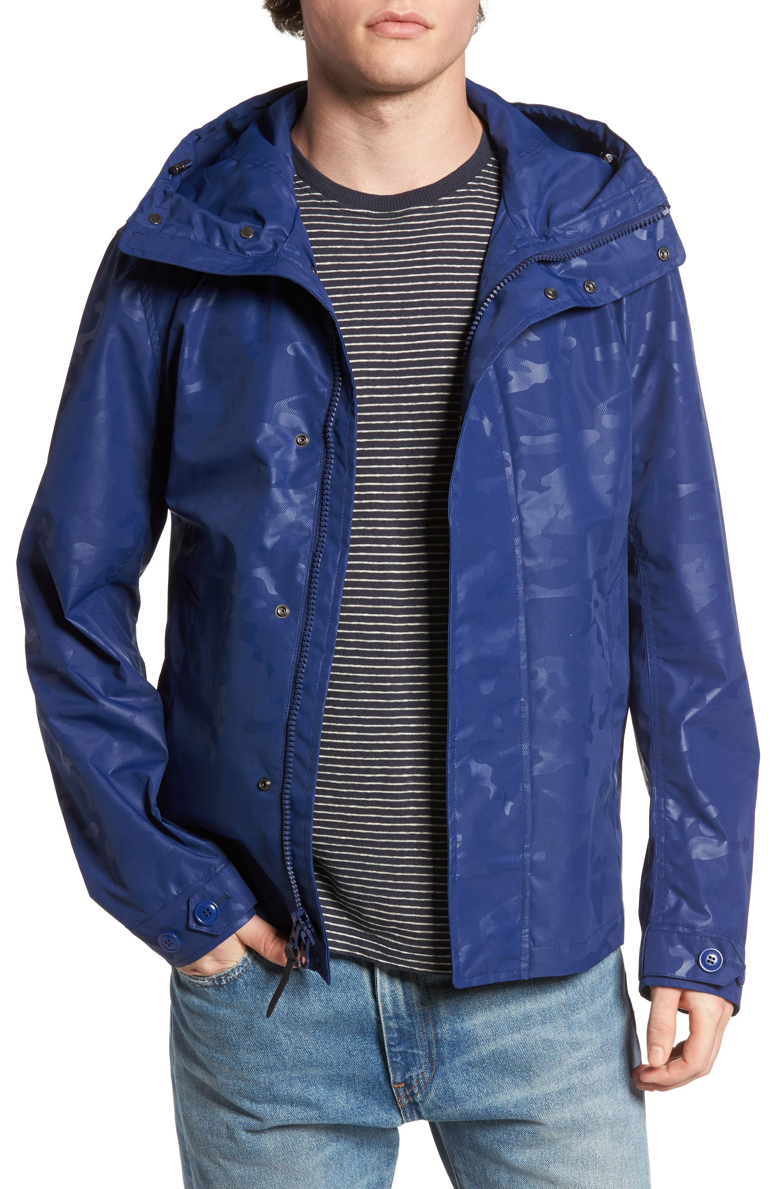 Camou Rudder Waterproof Jacket,                         Main,                         color,