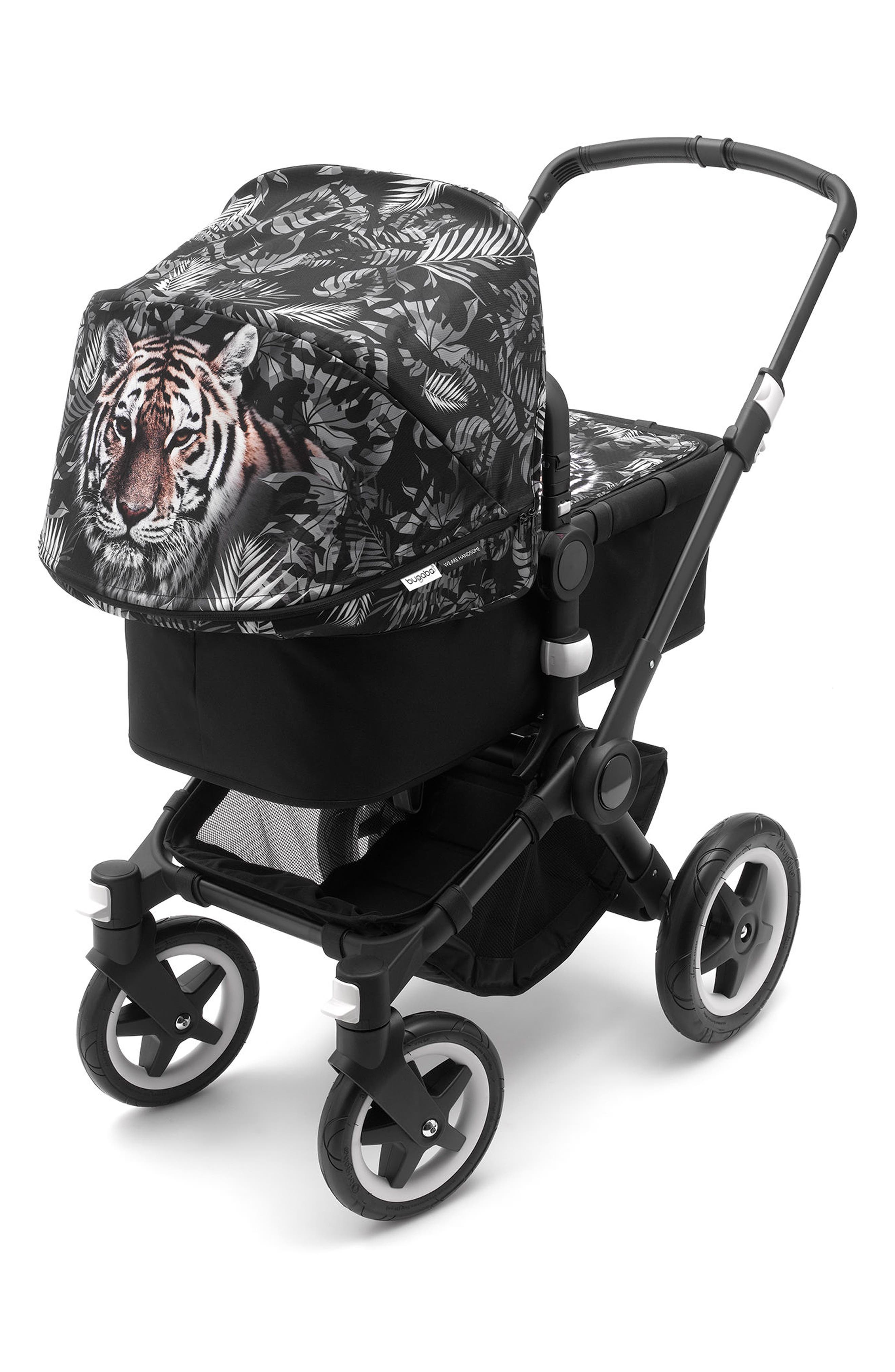 x We Are Handsome Limited Edition Tailored Fabric Set for Bugaboo Buffalo Stroller,                             Alternate thumbnail 3, color,                             PRINTS