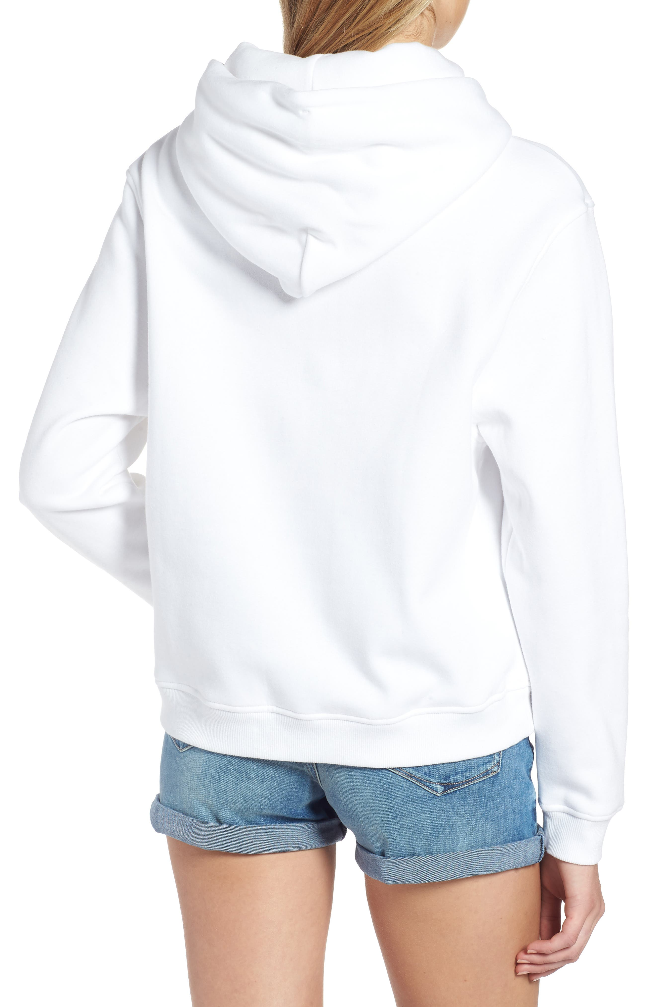 TJW Tommy Classics Hoodie,                             Alternate thumbnail 2, color,                             BRIGHT WHITE