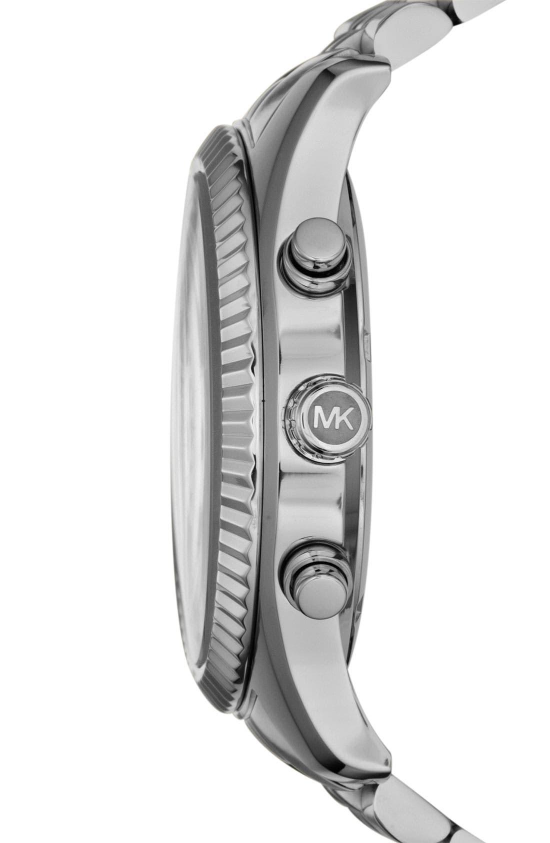 'Large Lexington' Chronograph Bracelet Watch, 45mm,                             Alternate thumbnail 2, color,                             040