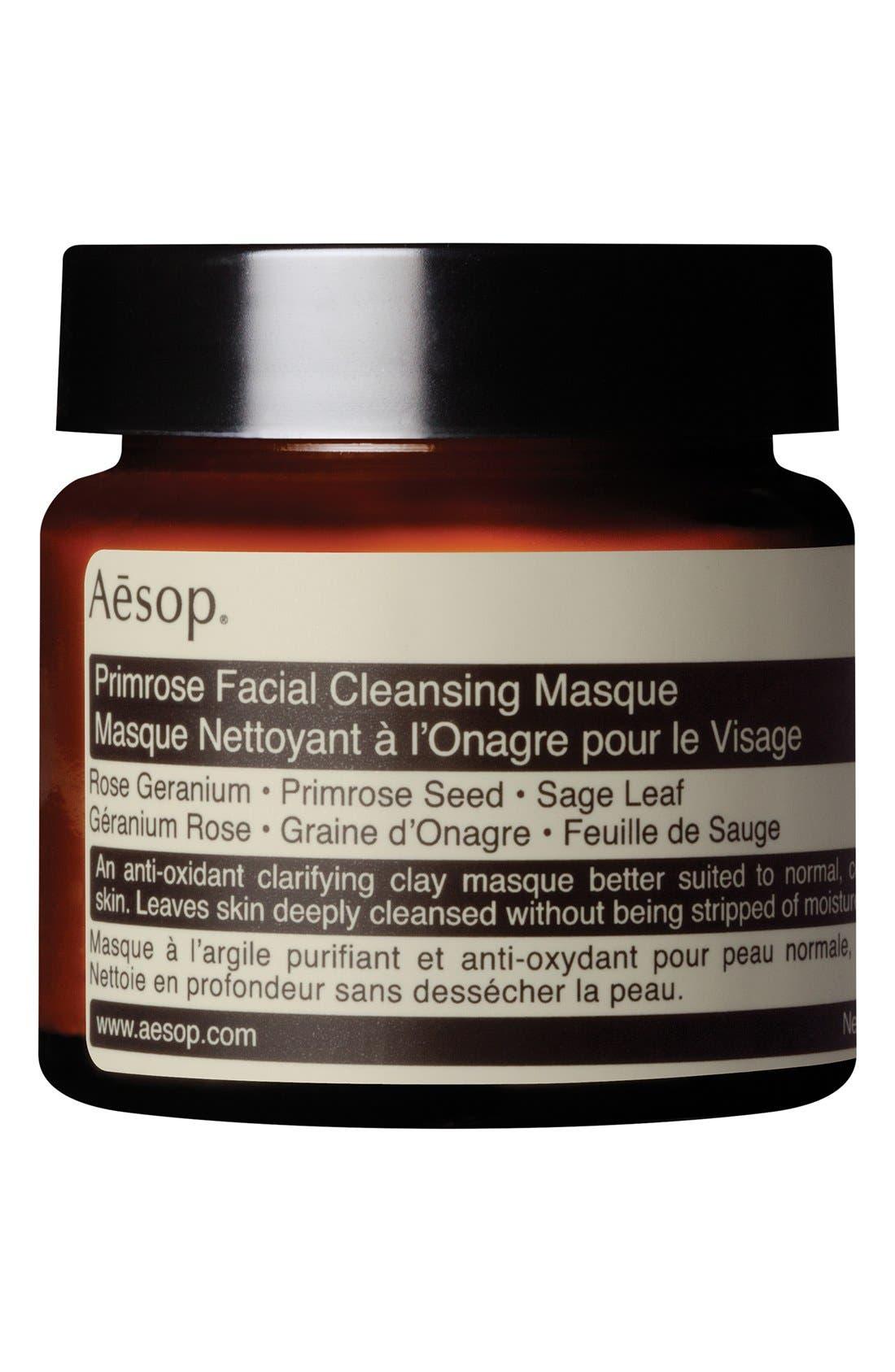 Primrose Facial Cleansing Masque,                             Main thumbnail 1, color,                             NONE