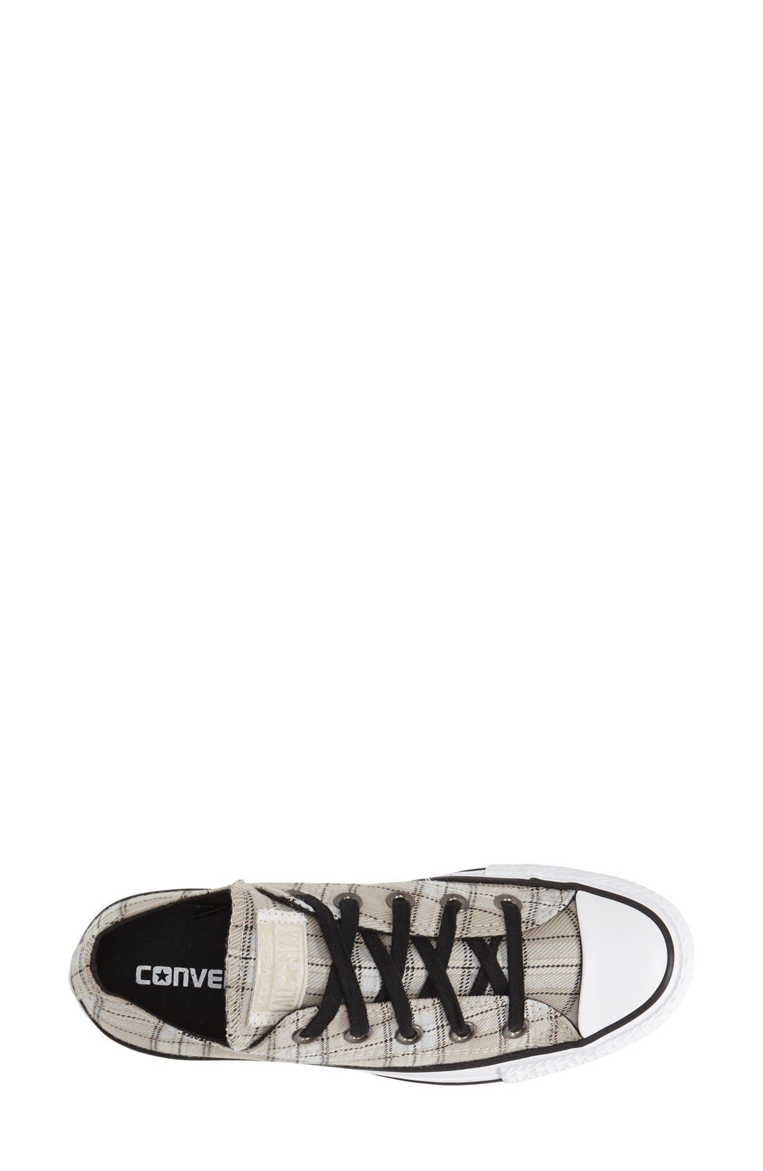 Chuck Taylor<sup>®</sup> All Star<sup>®</sup> Plaid Low Top Sneaker,                             Alternate thumbnail 5, color,                             250