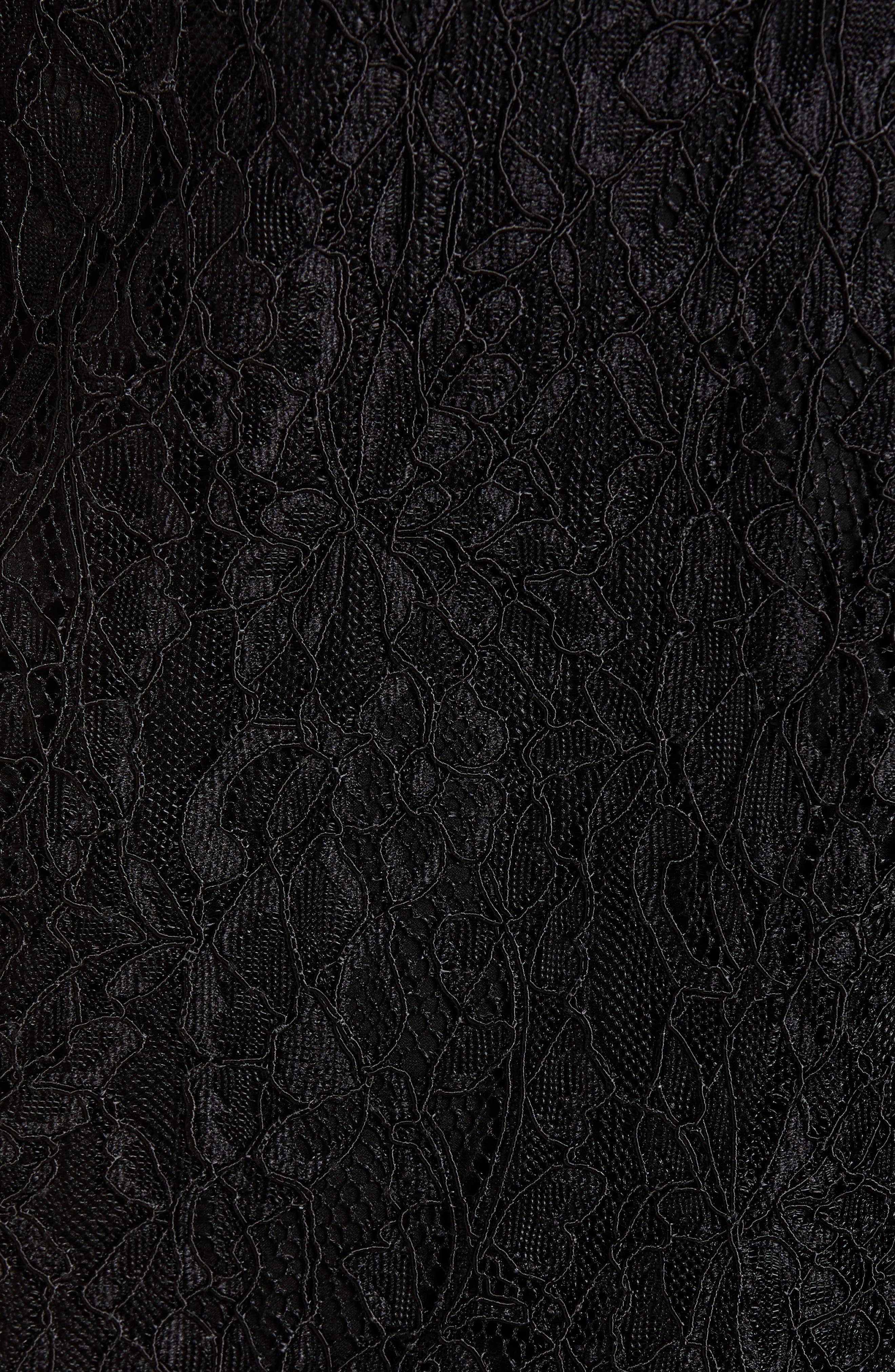 Lace Midi Skirt,                             Alternate thumbnail 5, color,