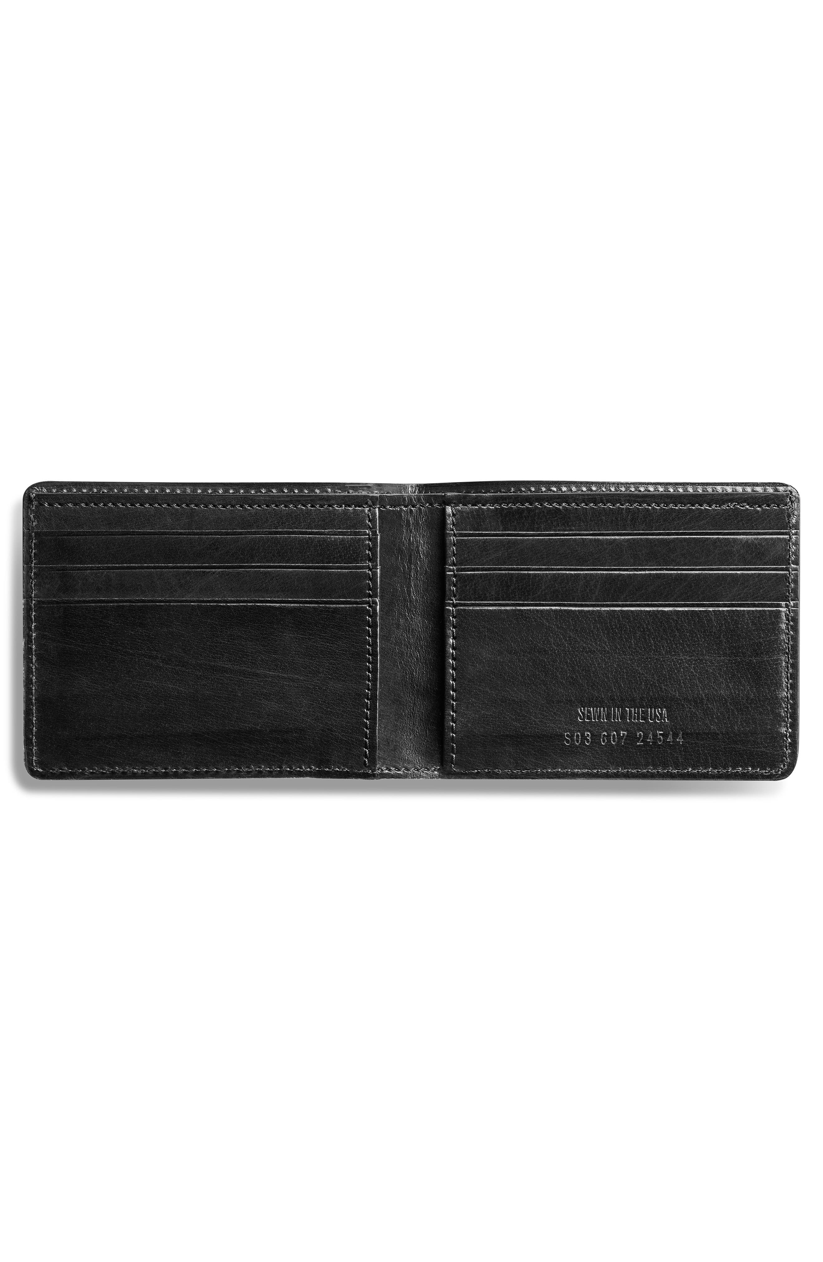 Outlaw Wallet,                             Alternate thumbnail 2, color,                             BLACK