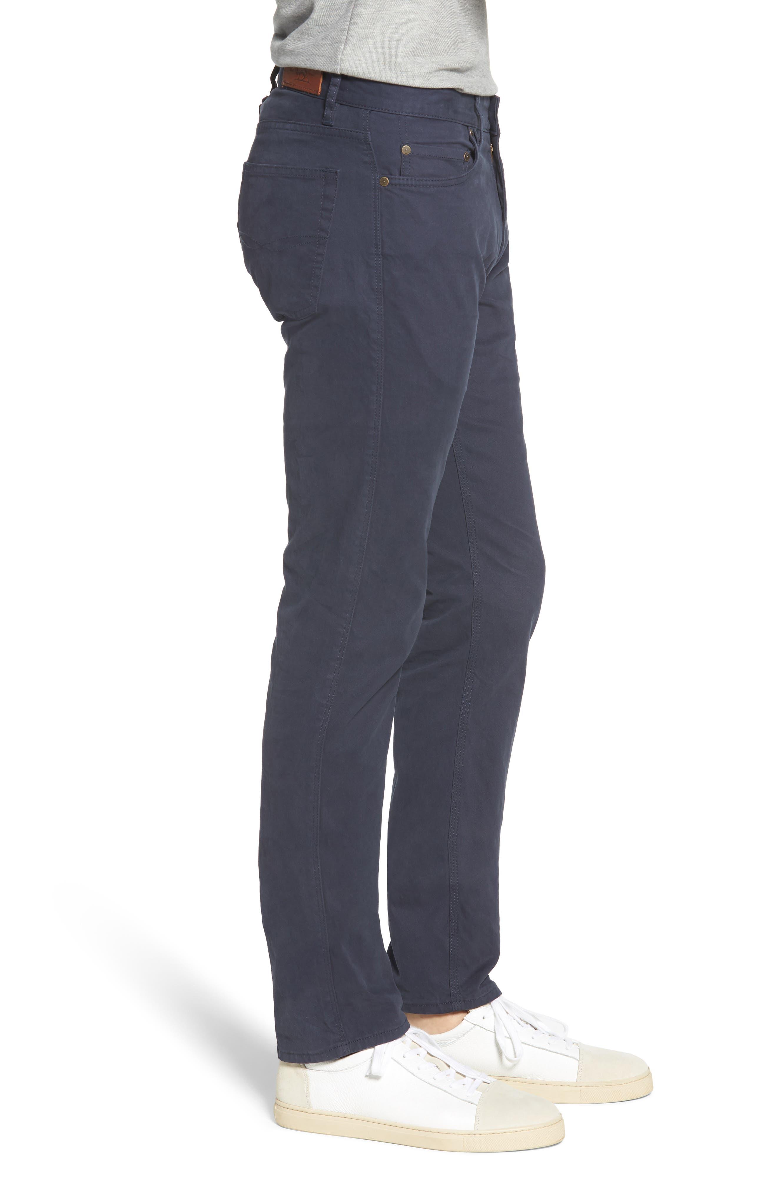 Fencourt Regular Fit Straight Leg Jeans,                             Alternate thumbnail 3, color,                             MIDNIGHT