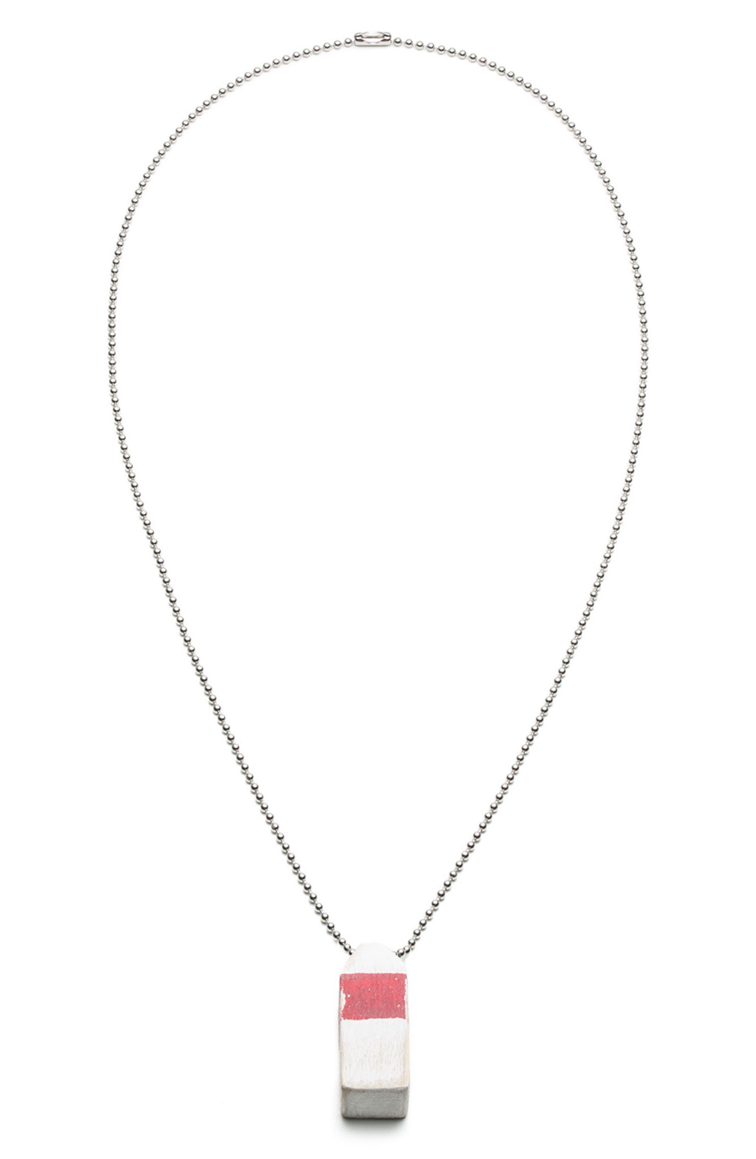 Buoy Pendant Necklace,                             Main thumbnail 2, color,