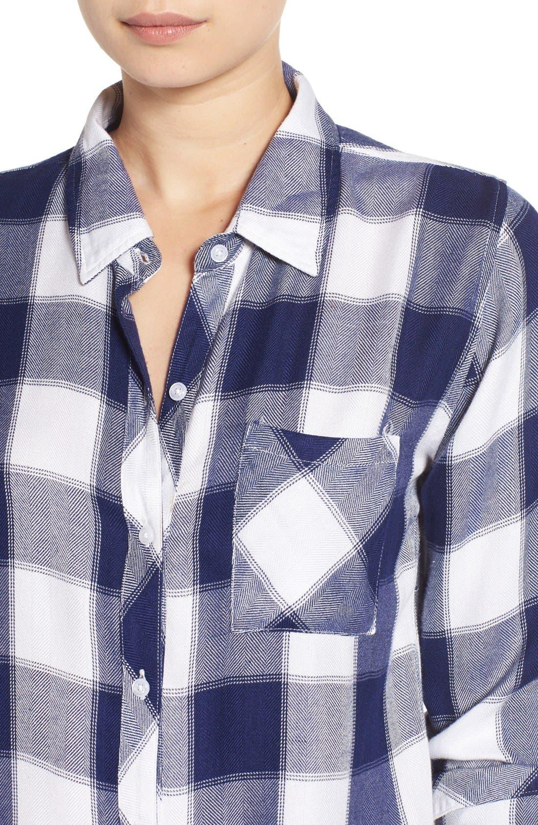 Hunter Plaid Shirt,                             Alternate thumbnail 524, color,