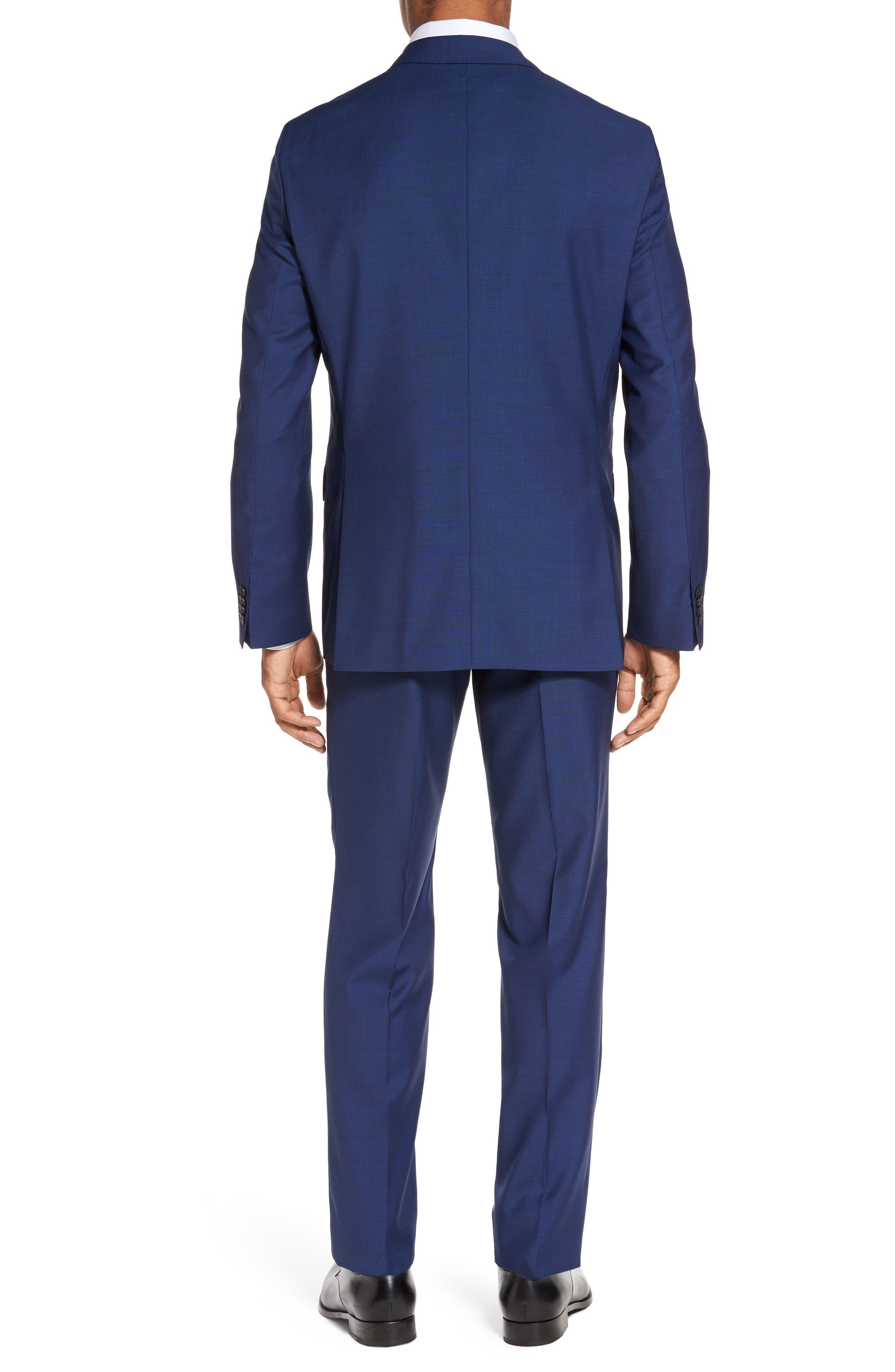 Trim Fit Solid Wool Suit,                             Alternate thumbnail 2, color,                             430