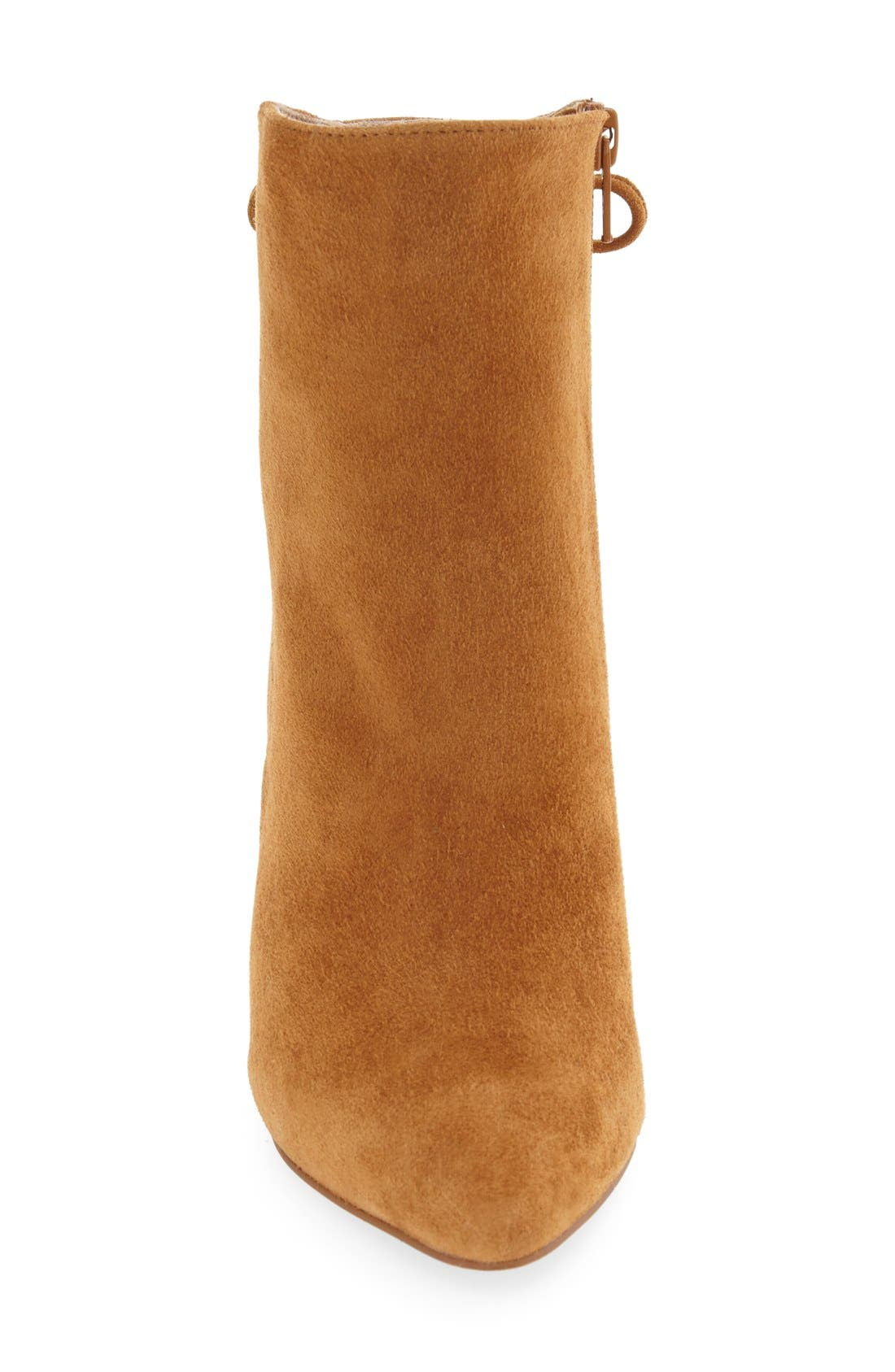 'Siren' Pointy Toe Bootie,                             Alternate thumbnail 9, color,