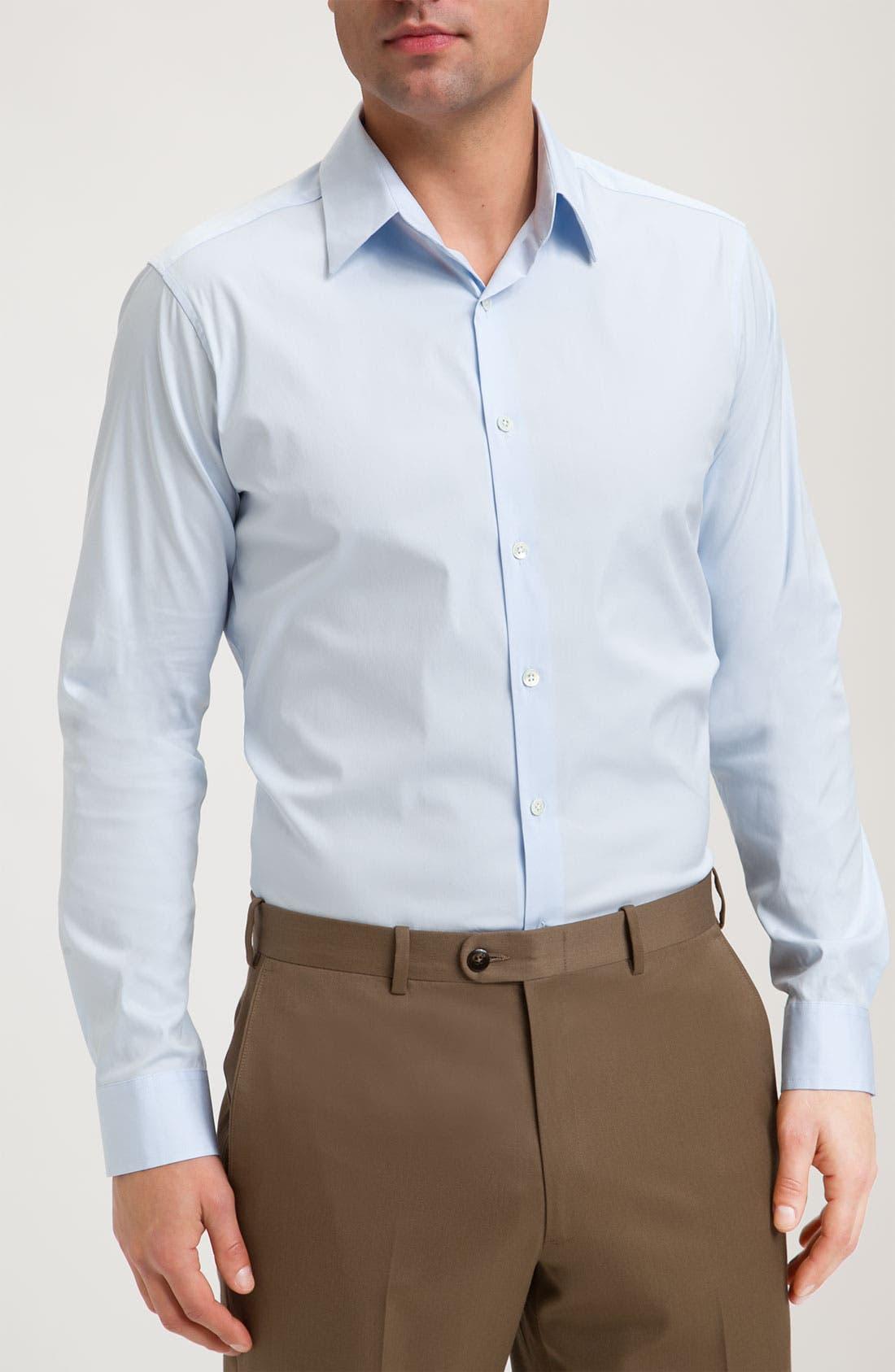 'Sylvain Wealth' Trim Fit Sport Shirt,                             Main thumbnail 1, color,                             426