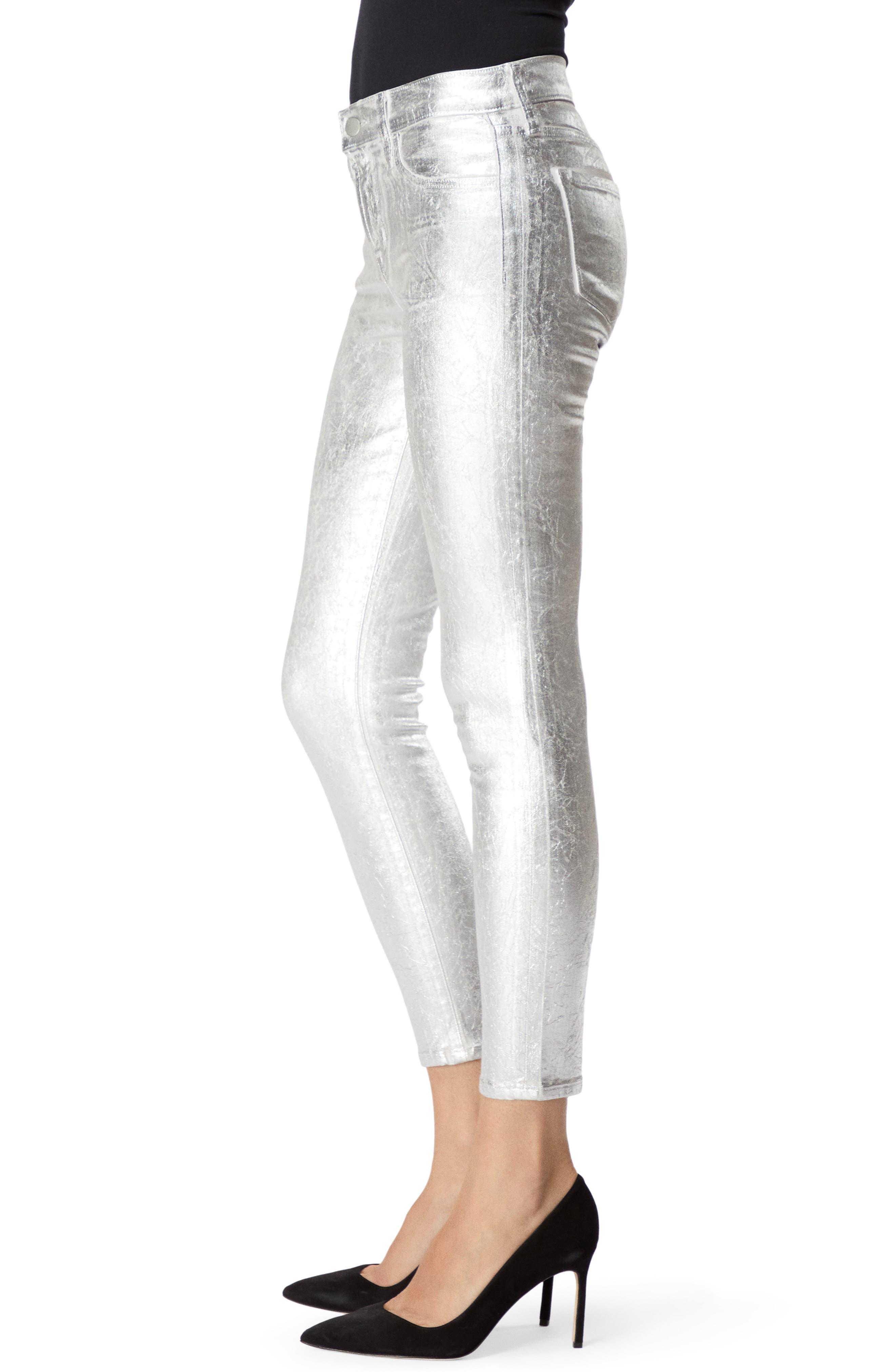 835 Capri Skinny Jeans,                             Alternate thumbnail 3, color,                             SUPERMOON CRISTALLINE