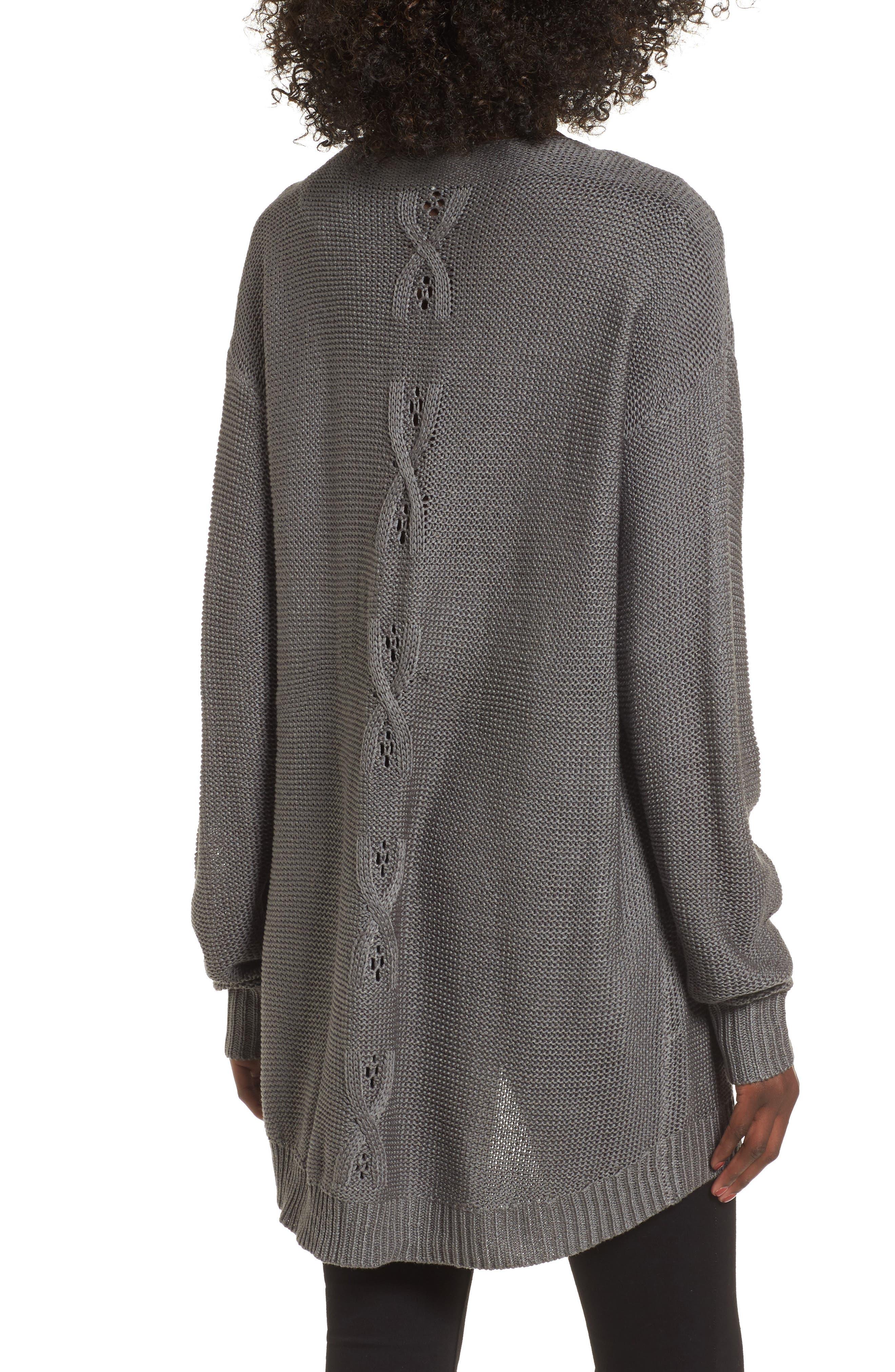 Patti Longline Sweater,                             Alternate thumbnail 2, color,                             021