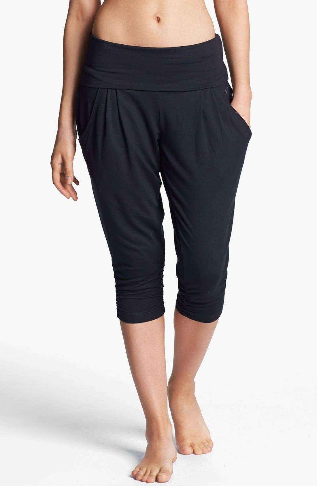 NIKE 'Ace' Crop Pants, Main, color, 010