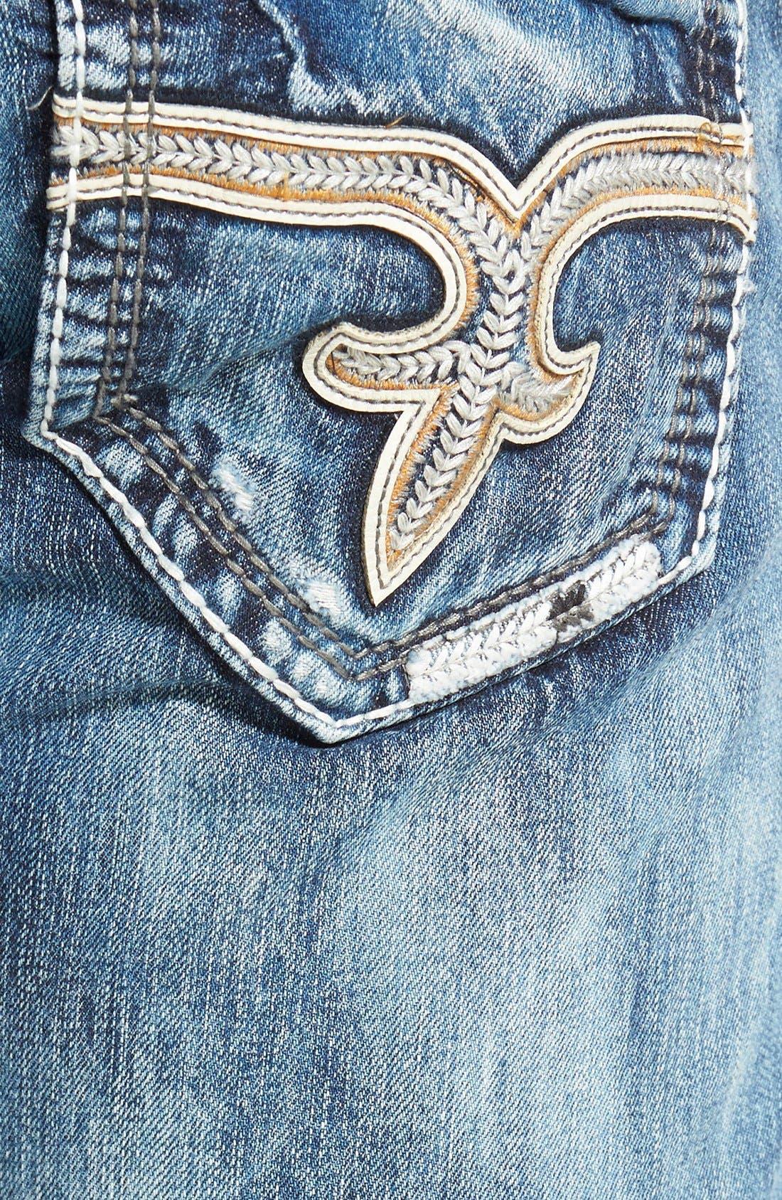 ROCK REVIVAL,                             'Emmet' Straight Leg Jeans,                             Alternate thumbnail 2, color,                             431