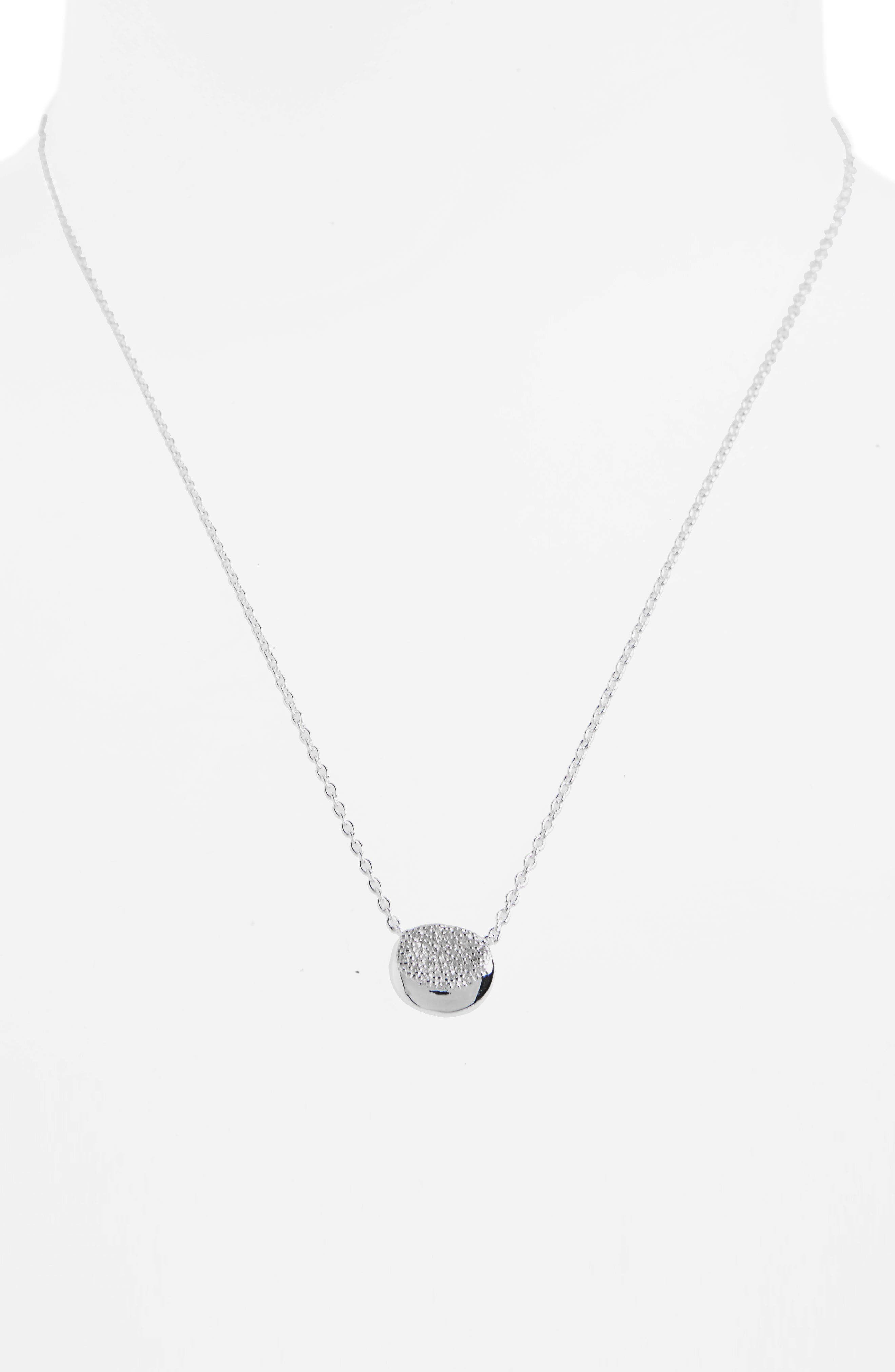 Onda Diamond Pendant Necklace,                             Alternate thumbnail 2, color,                             040