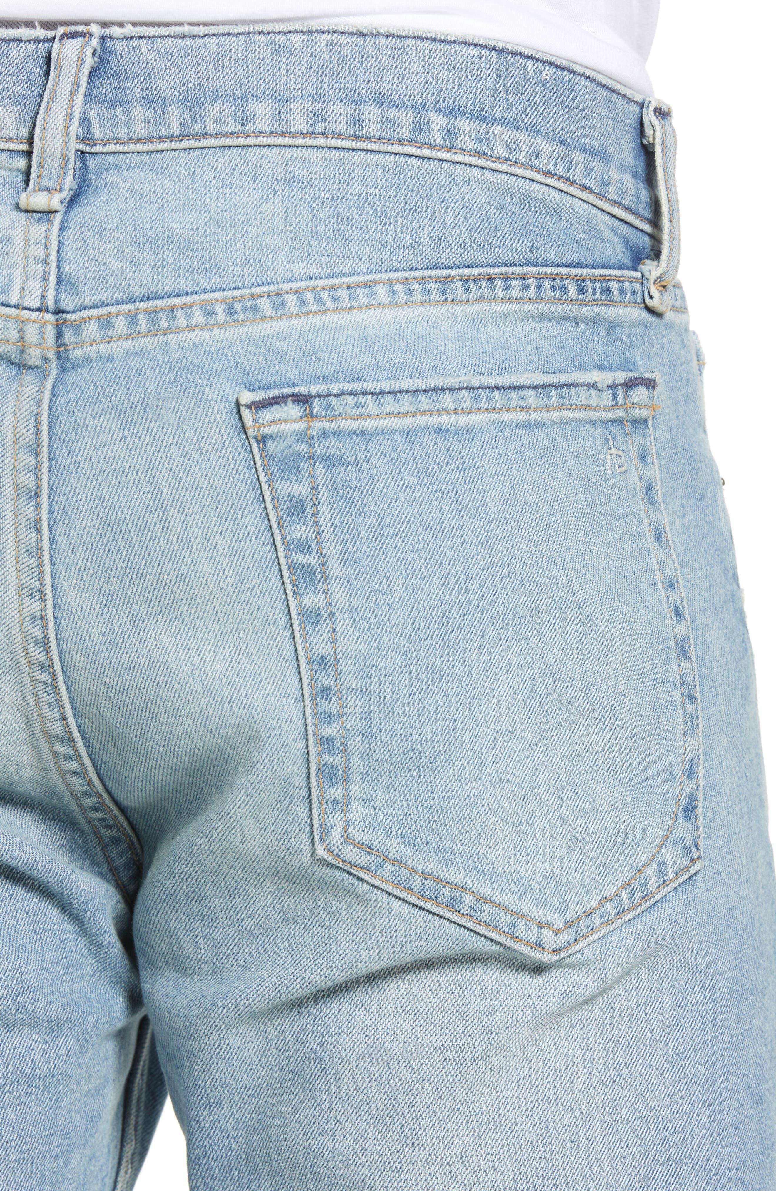 Fit 2 Slim Fit Jeans,                             Alternate thumbnail 4, color,                             400