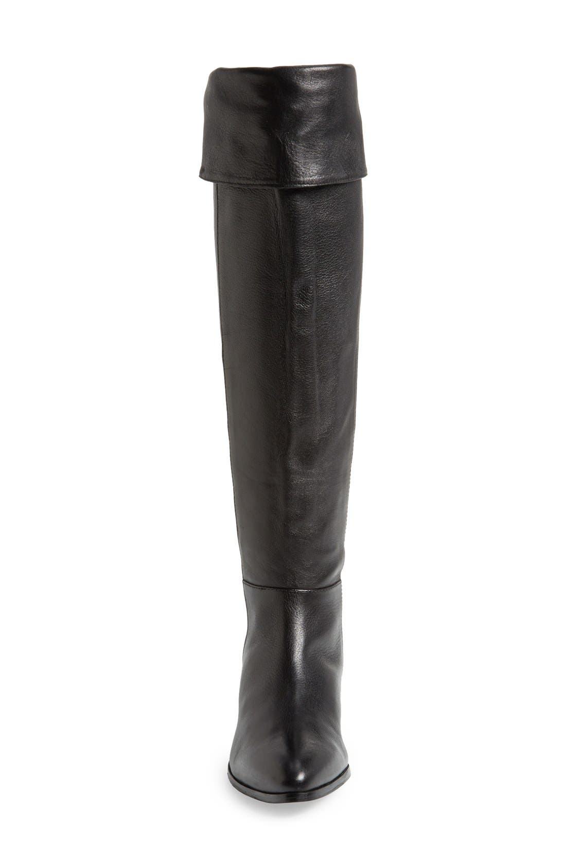 'Victory' Over the Knee Boot,                             Alternate thumbnail 4, color,                             001