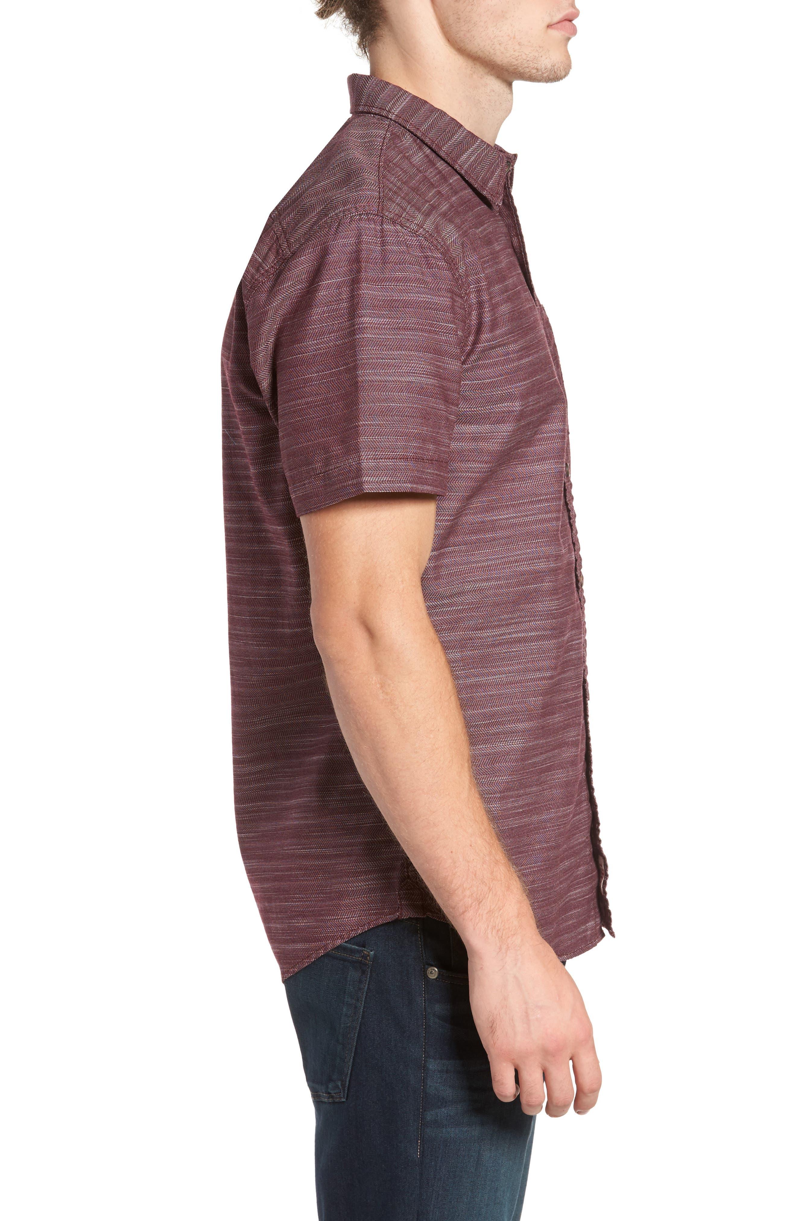 Herringbone Chambray Shirt,                             Alternate thumbnail 9, color,