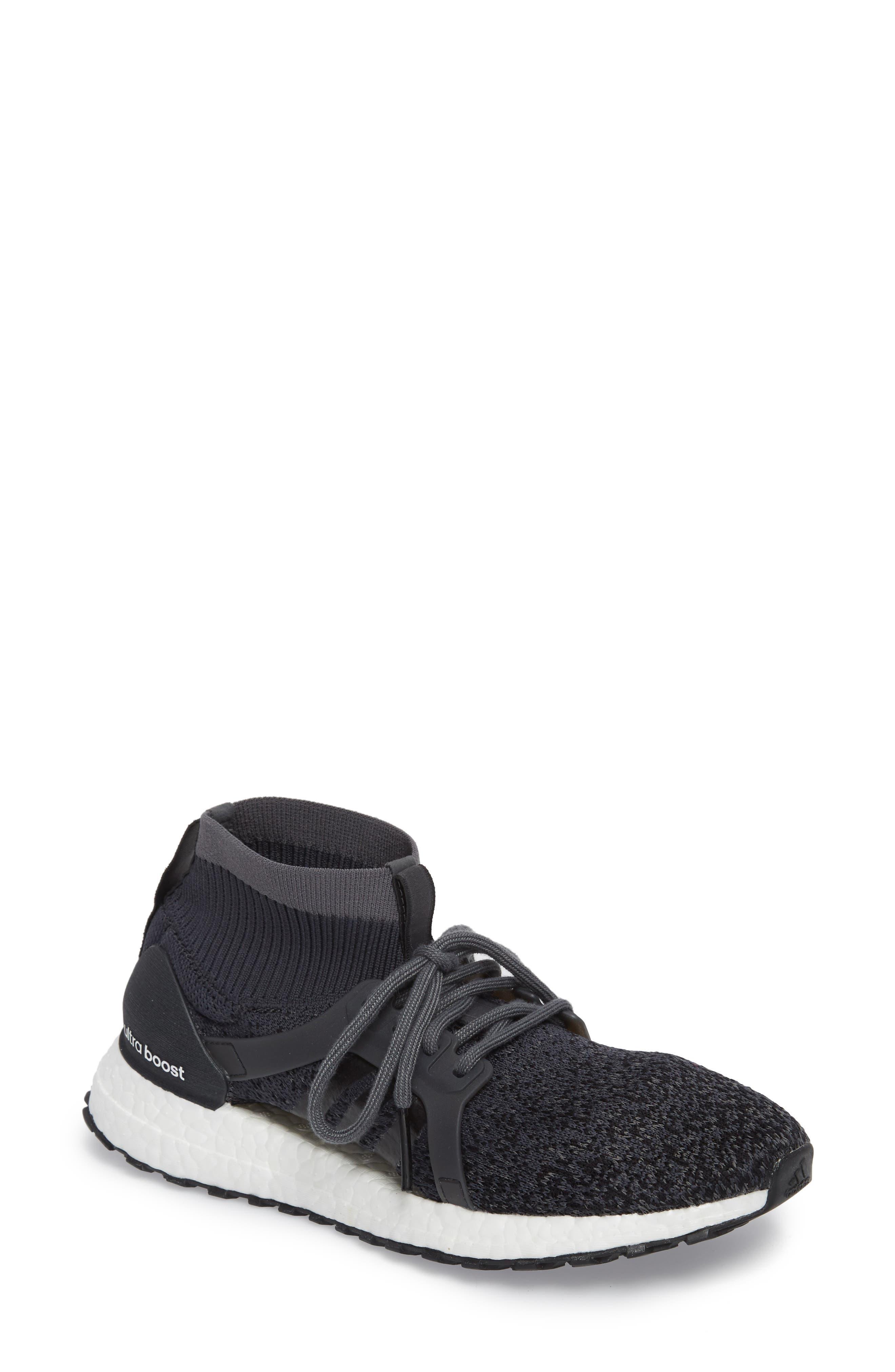 UltraBoost X All Terrain Water Resistant Running Shoe,                         Main,                         color, 001