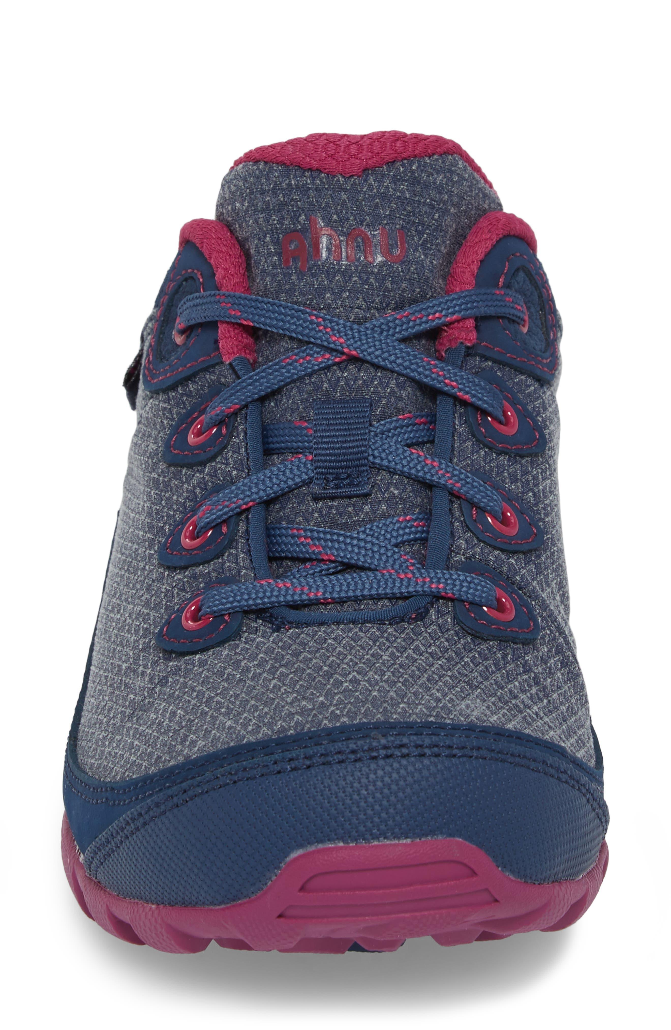 Ahnu by Teva Sugarpine II Waterproof Hiking Sneaker,                             Alternate thumbnail 4, color,                             INSIGNIA BLUE