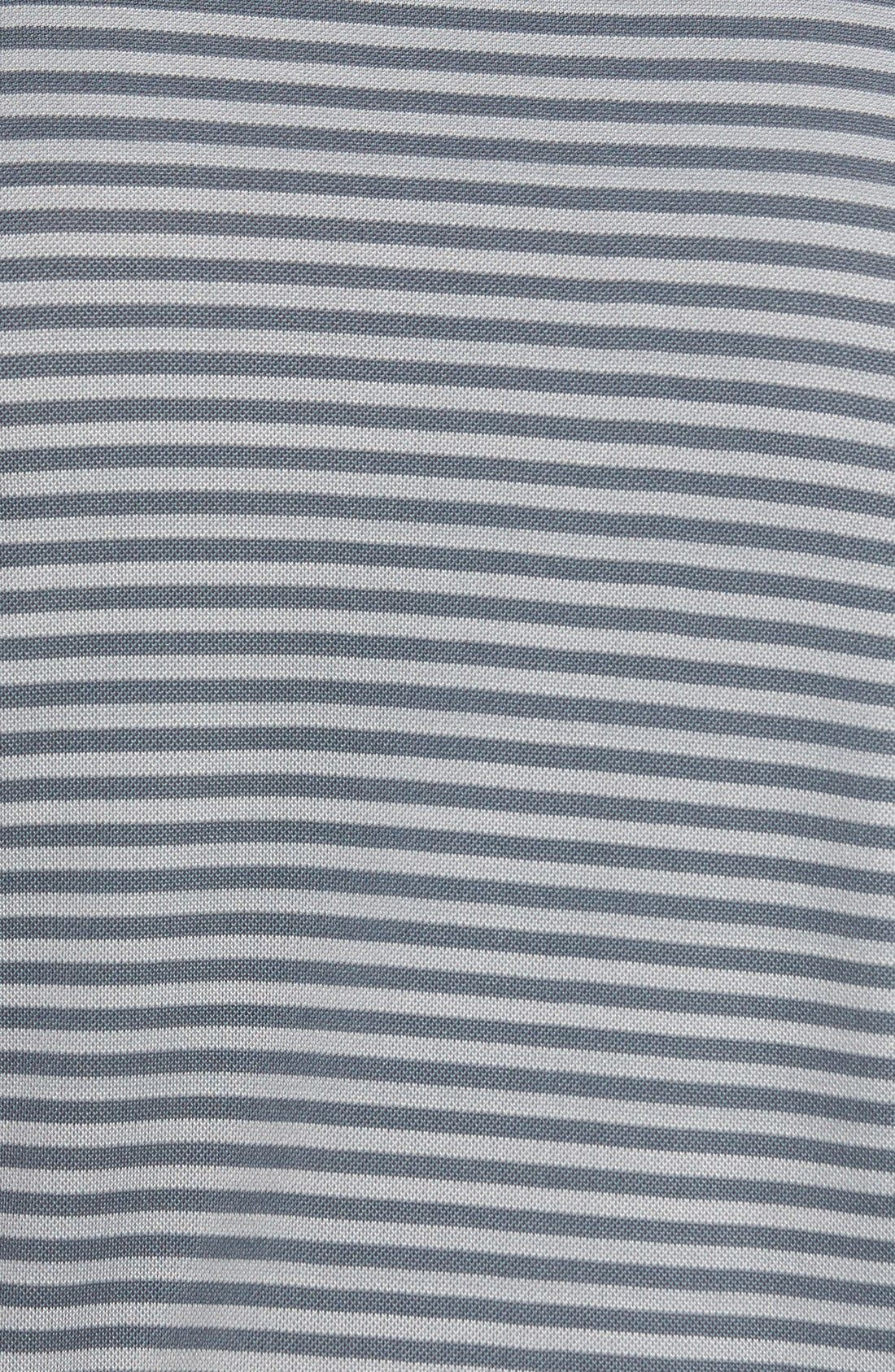 XH2O Feed Stripe Stretch Golf Polo,                             Alternate thumbnail 80, color,