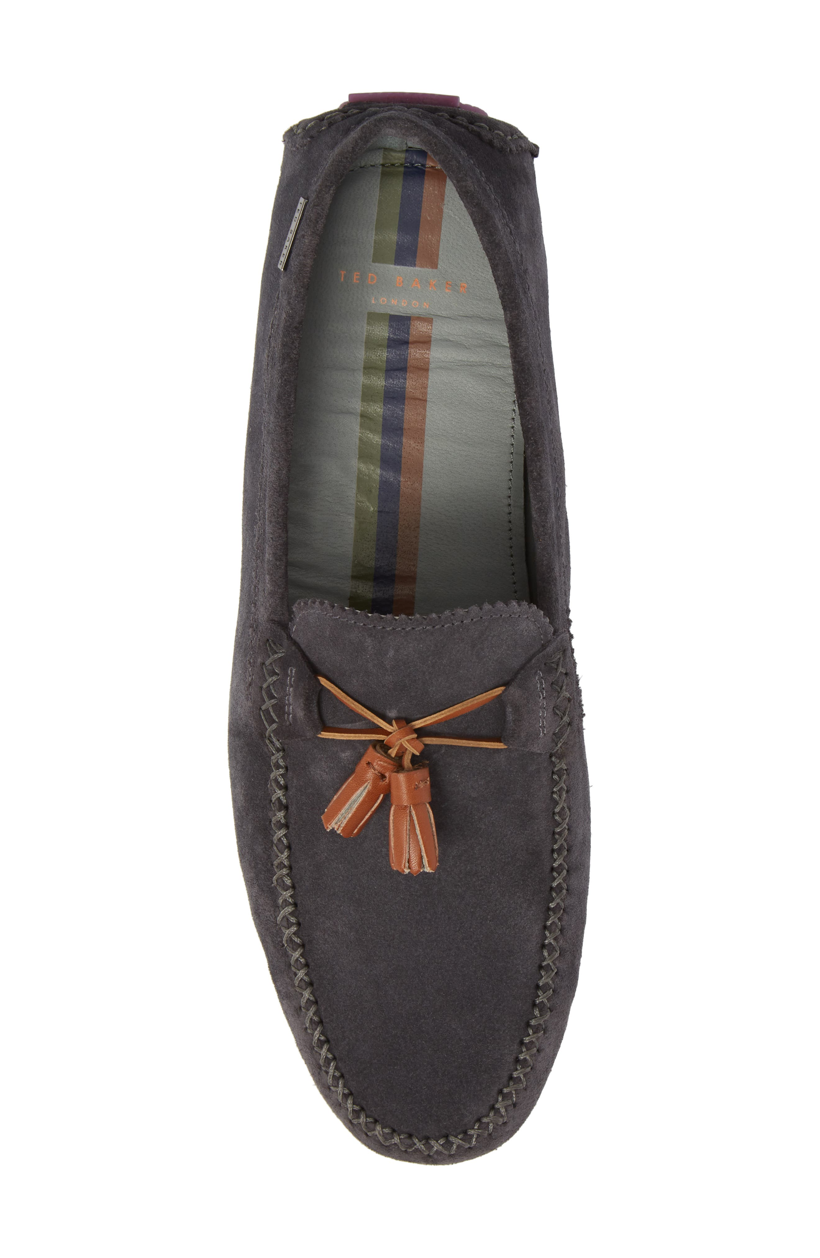 Urbonns Tasseled Driving Loafer,                             Alternate thumbnail 5, color,                             070